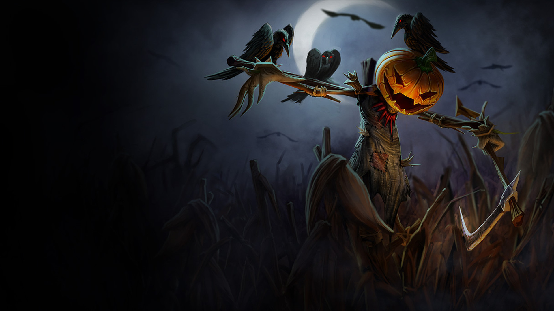 1920x1080 Pumpkin Head Fiddlesticks Wallpaper - LeagueSplash