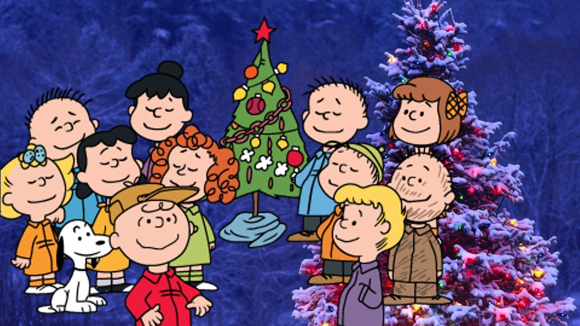 Peanuts Christmas Wallpaper for