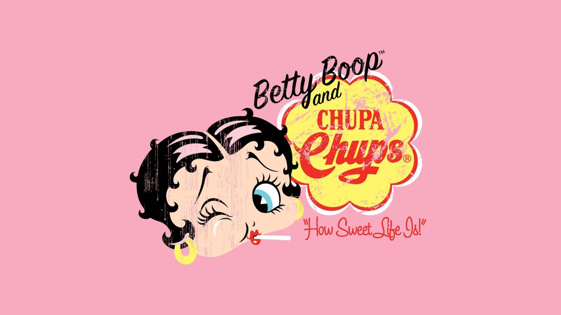 Pink Betty Boop Wallpaper 43