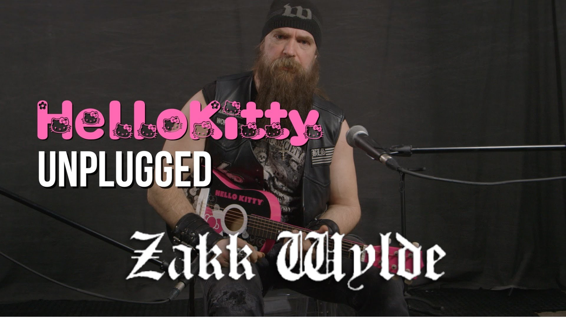 1920x1080 ZAKK WYLDE Rocks Some BLACK SABBATH On A Hello Kitty Guitar - Metal  Injection