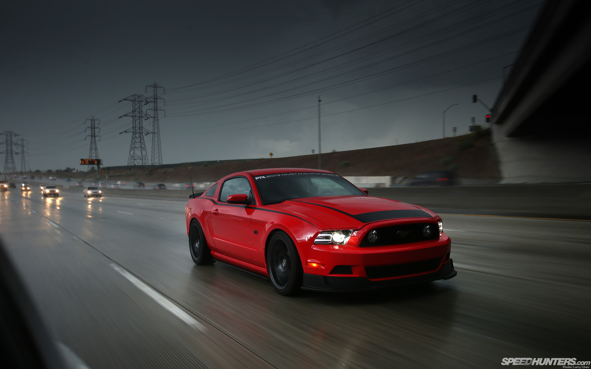 1920x1200 Ford mustang highway road cars vehicles wallpaper |  | 39869 |  WallpaperUP