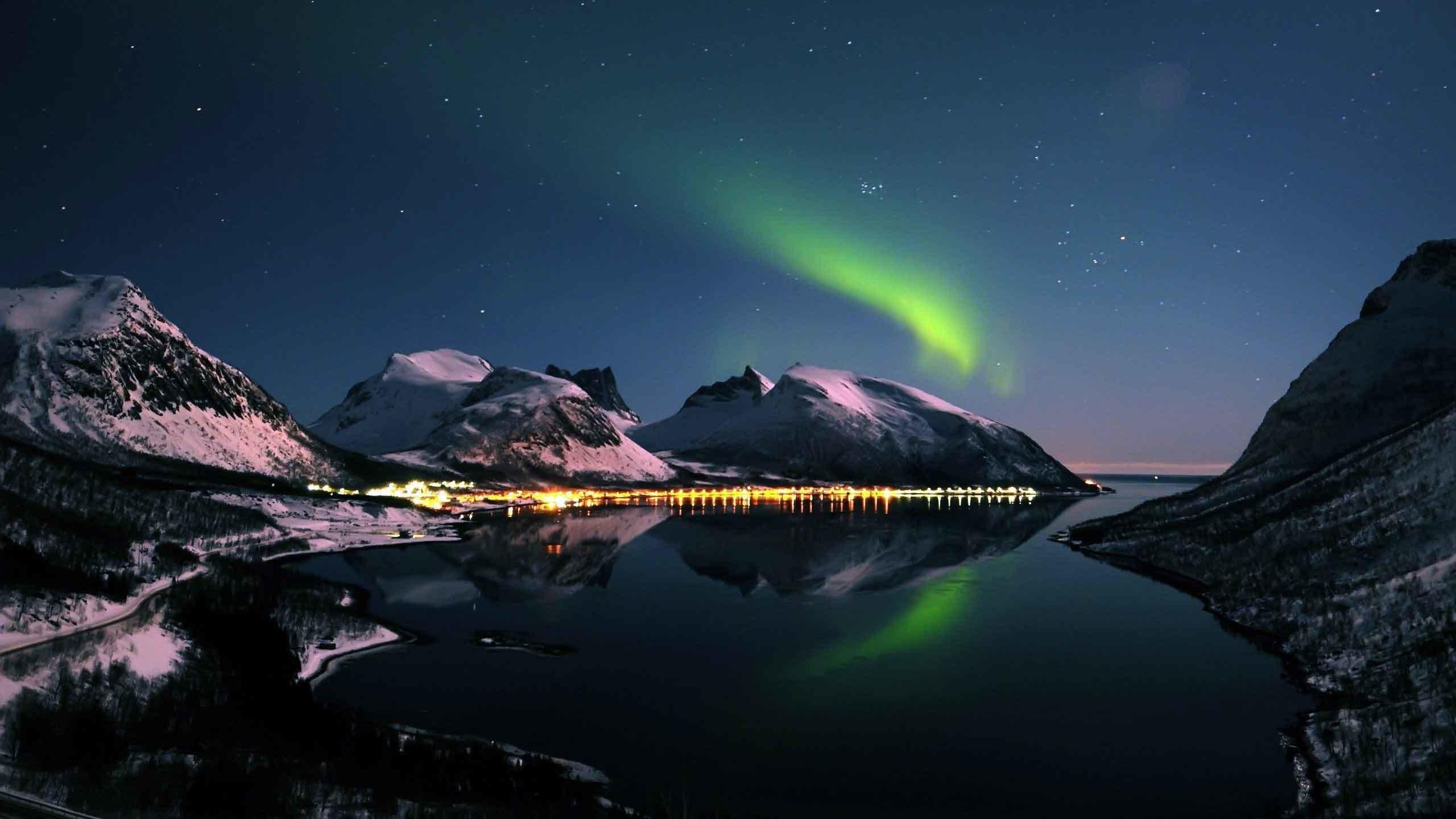 Aurora Borealis Background 66 Images