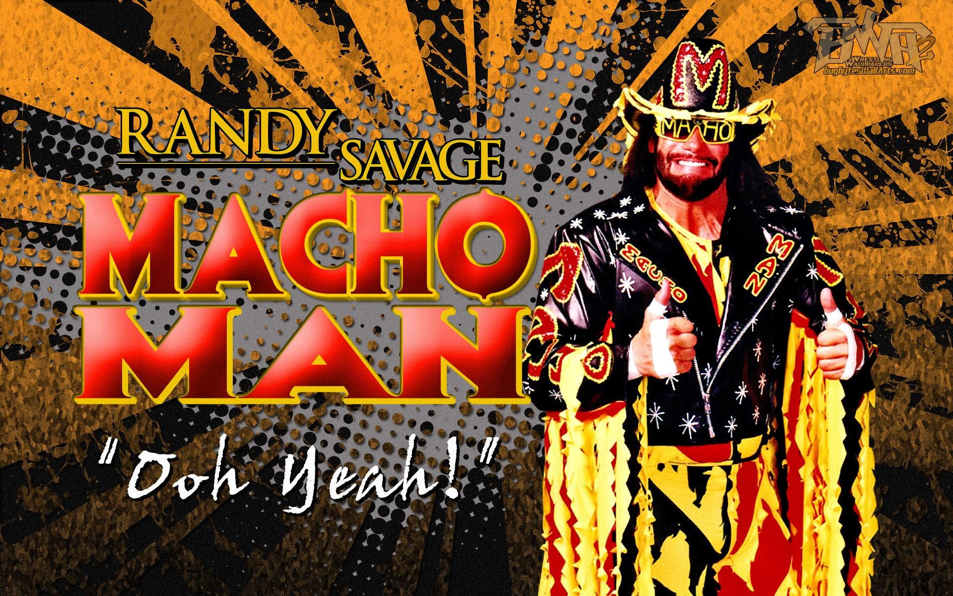"1920x1200 Wrestling Legend: ""Macho Man"" Randy Savage Wallpaper!"