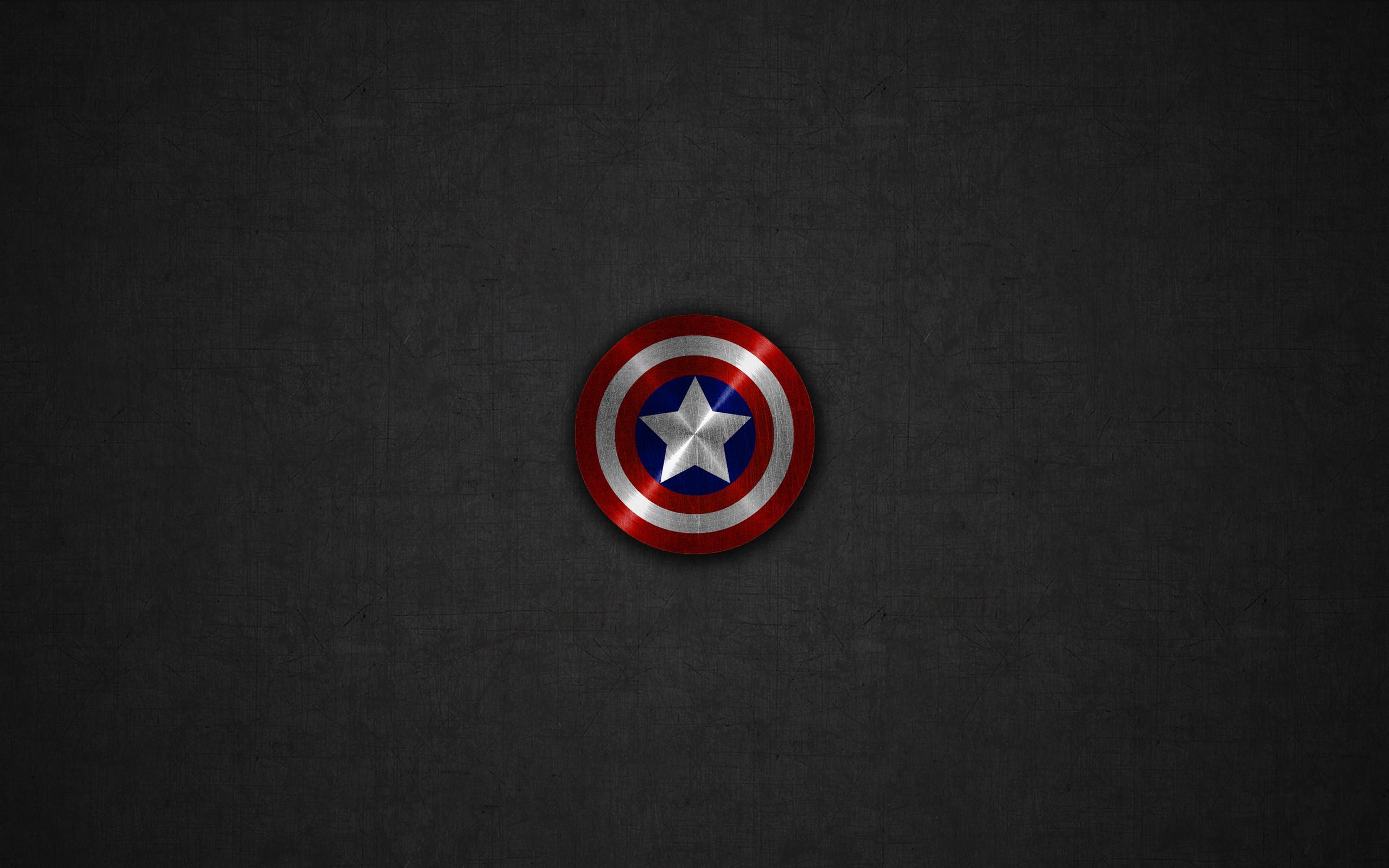 2560x1600 Captain America Shield Wallpaper