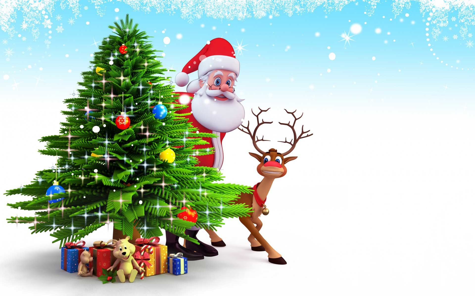 3d christmas wallpaper (58+ images)