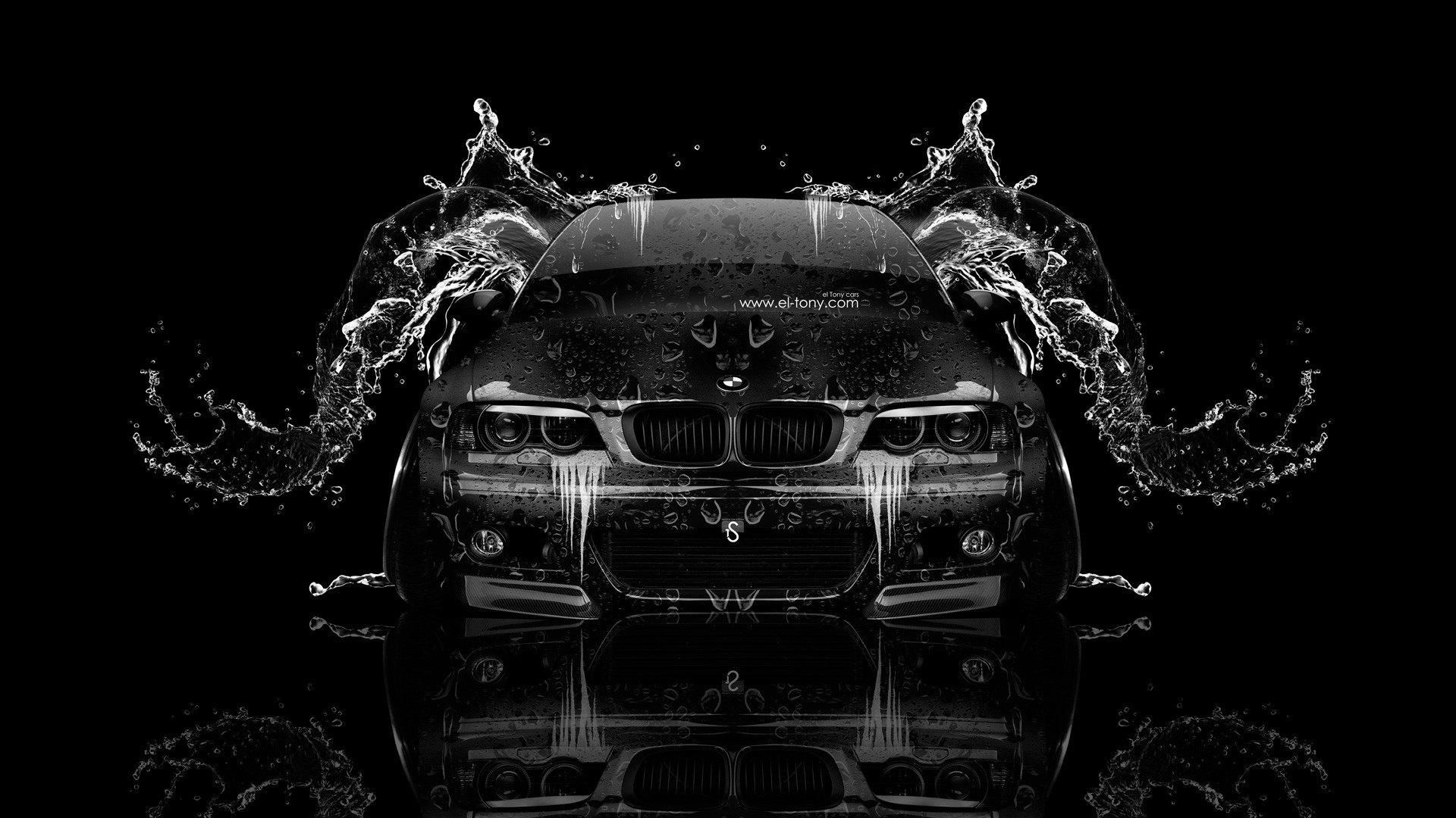 1920x1080 BMW-M3-E46-Front-Water-Car-2014-HD-