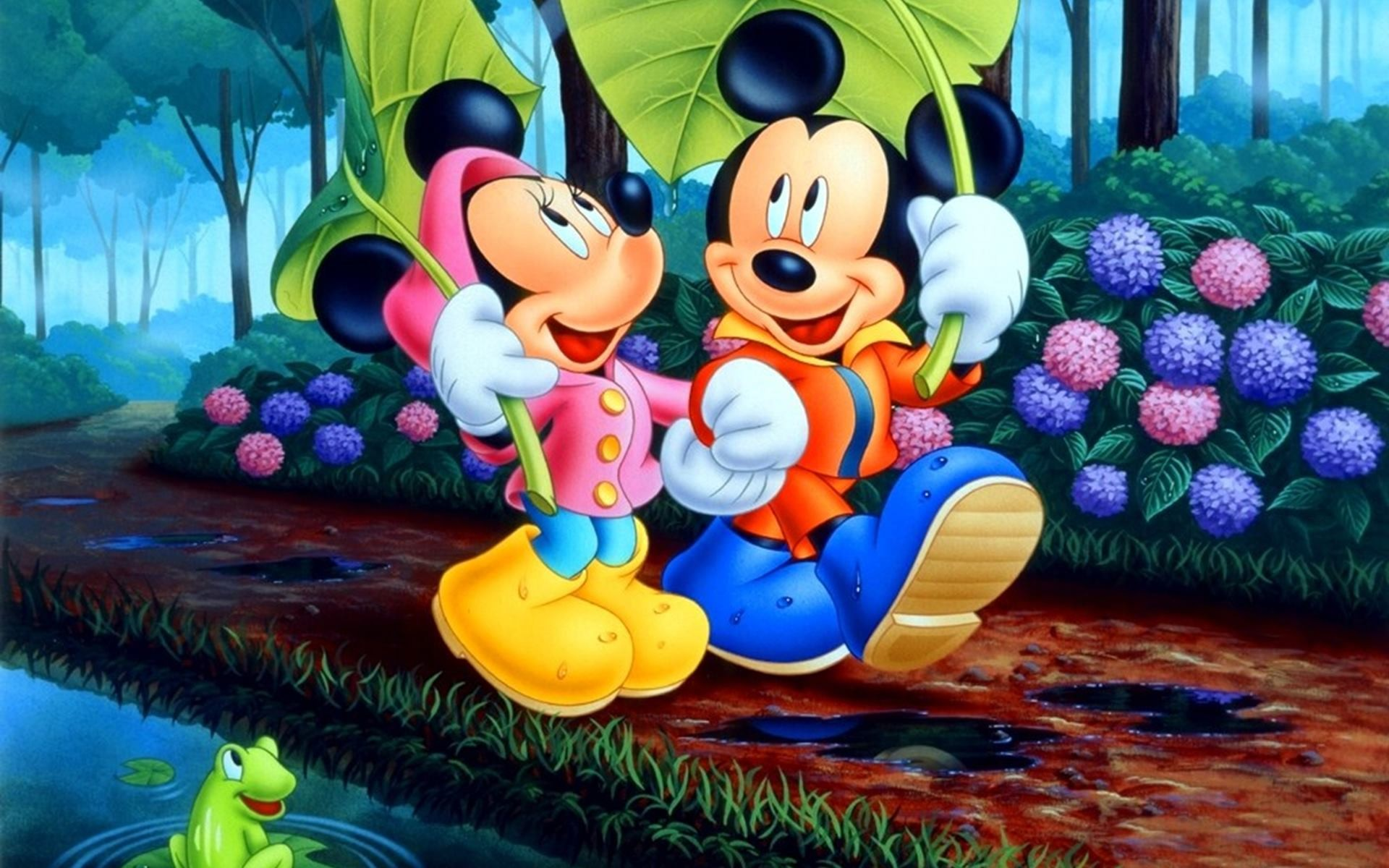 1920x1200 Wallpapers Mickey And Minnie Mouse (50 Wallpapers) – Adorable Wallpapers