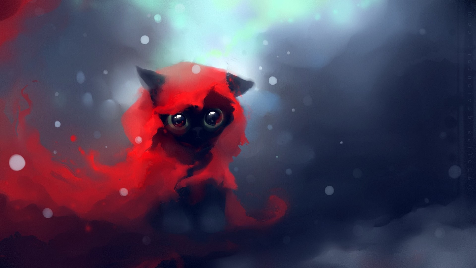 1920x1080 Image - Cat-apofiss-cute-black-speed-painting-wallpaper -cartoon-kittens-heart-anime-original-images-touching-cuties.jpg | Animal  Jam Clans Wiki | FANDOM ...