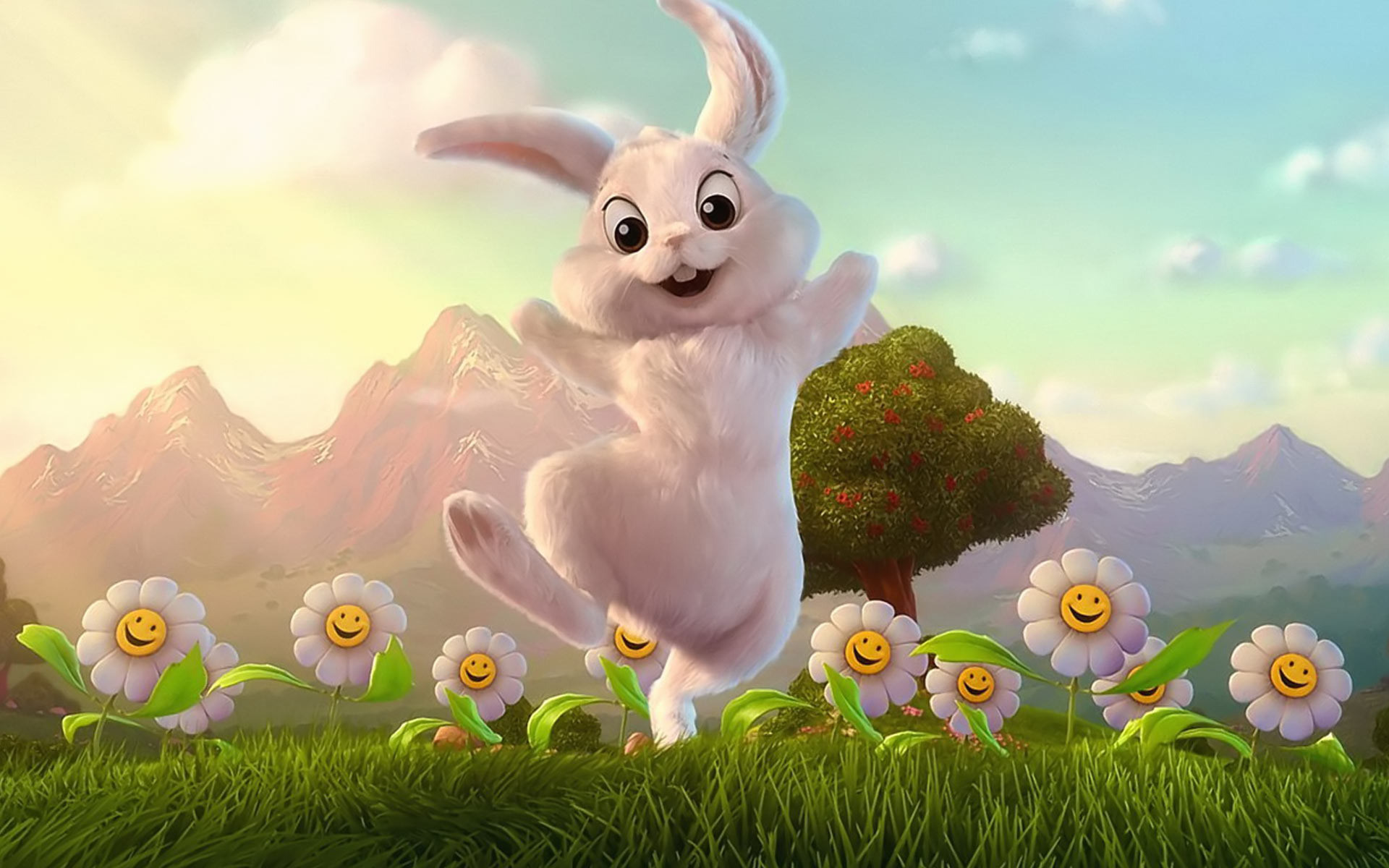 1920x1200 Easter Bunny Wallpaper Download Gallery