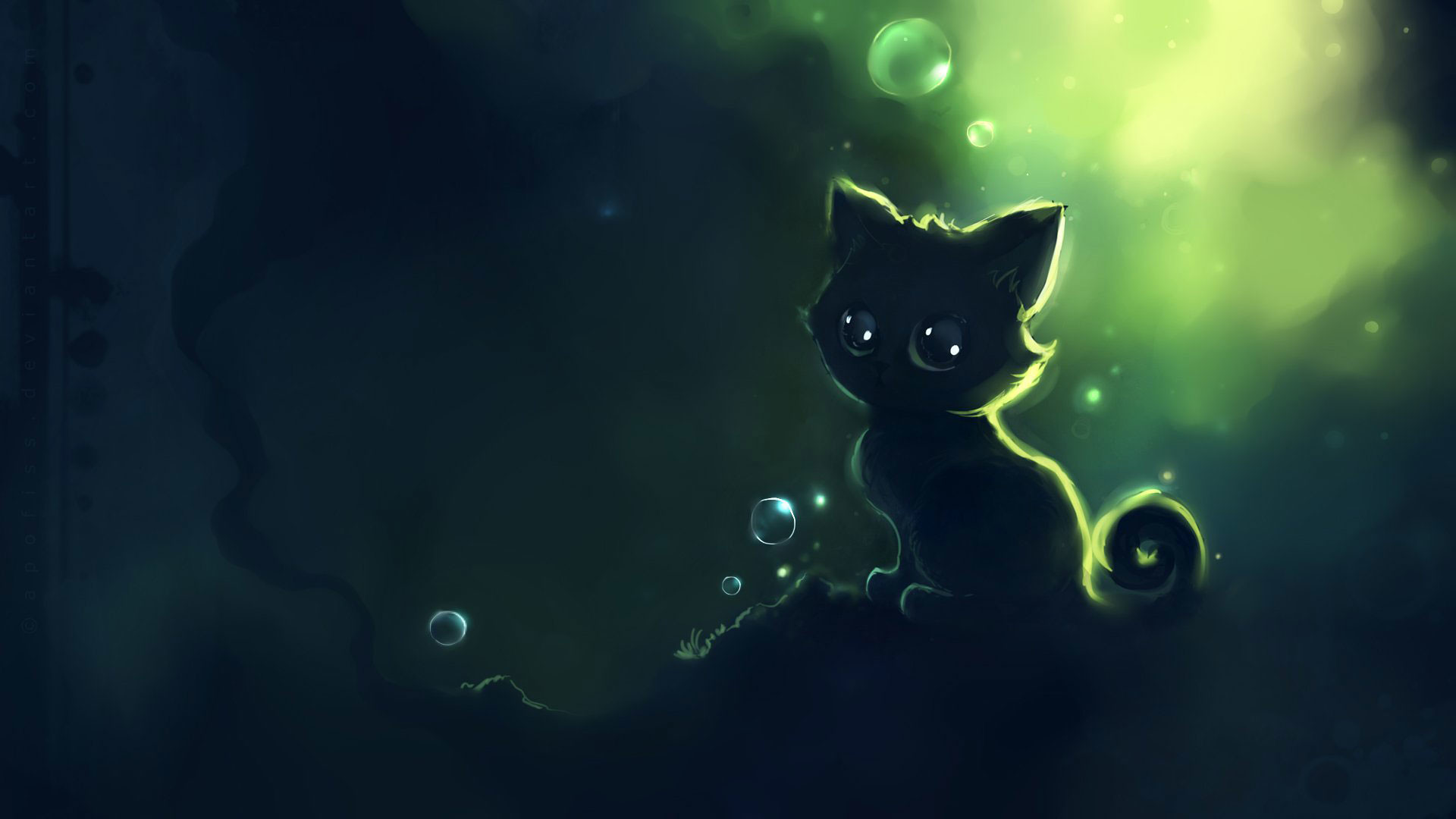 25+ Animated Cat Screensaver Background