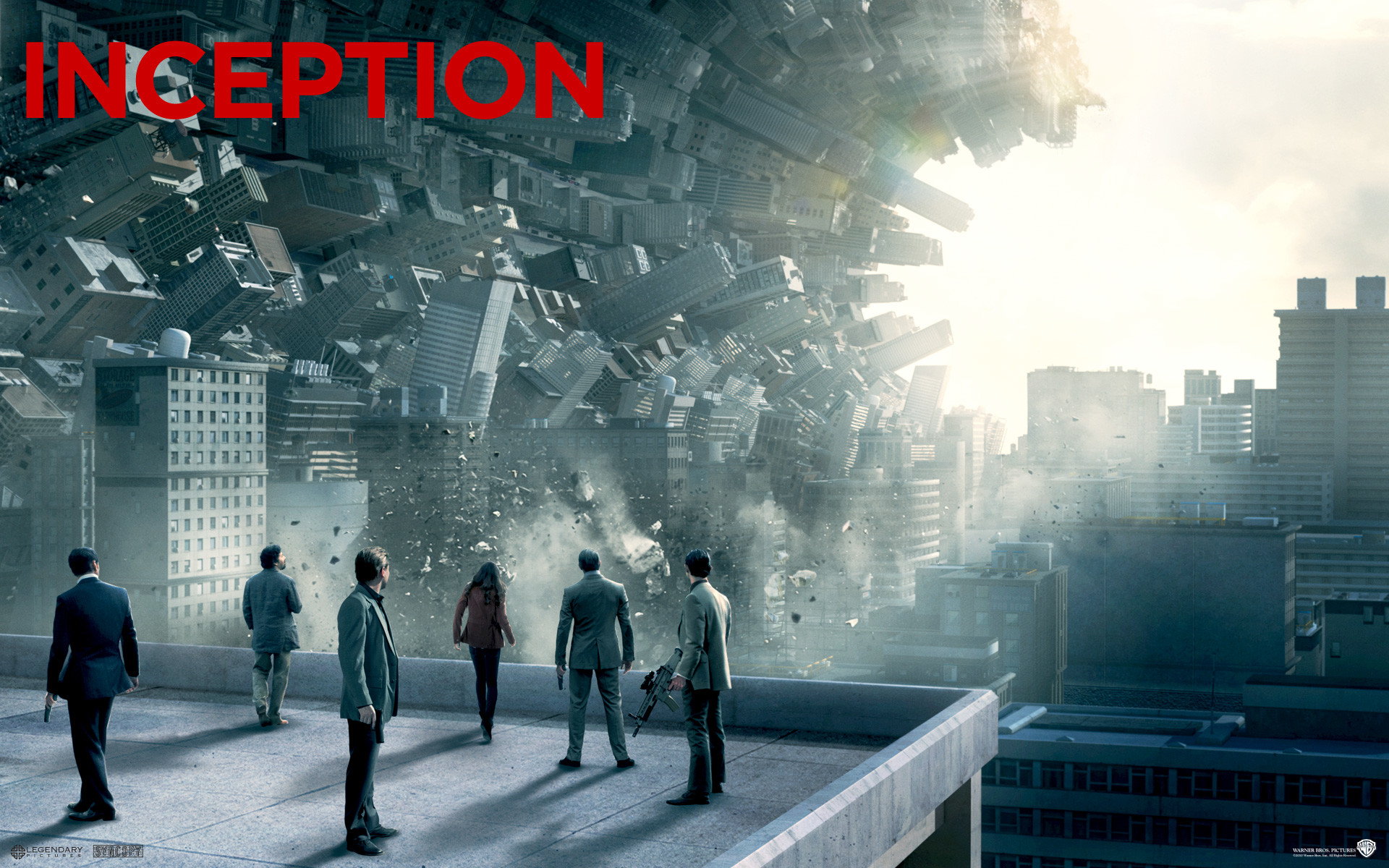 1920x1200 Inception movie poster