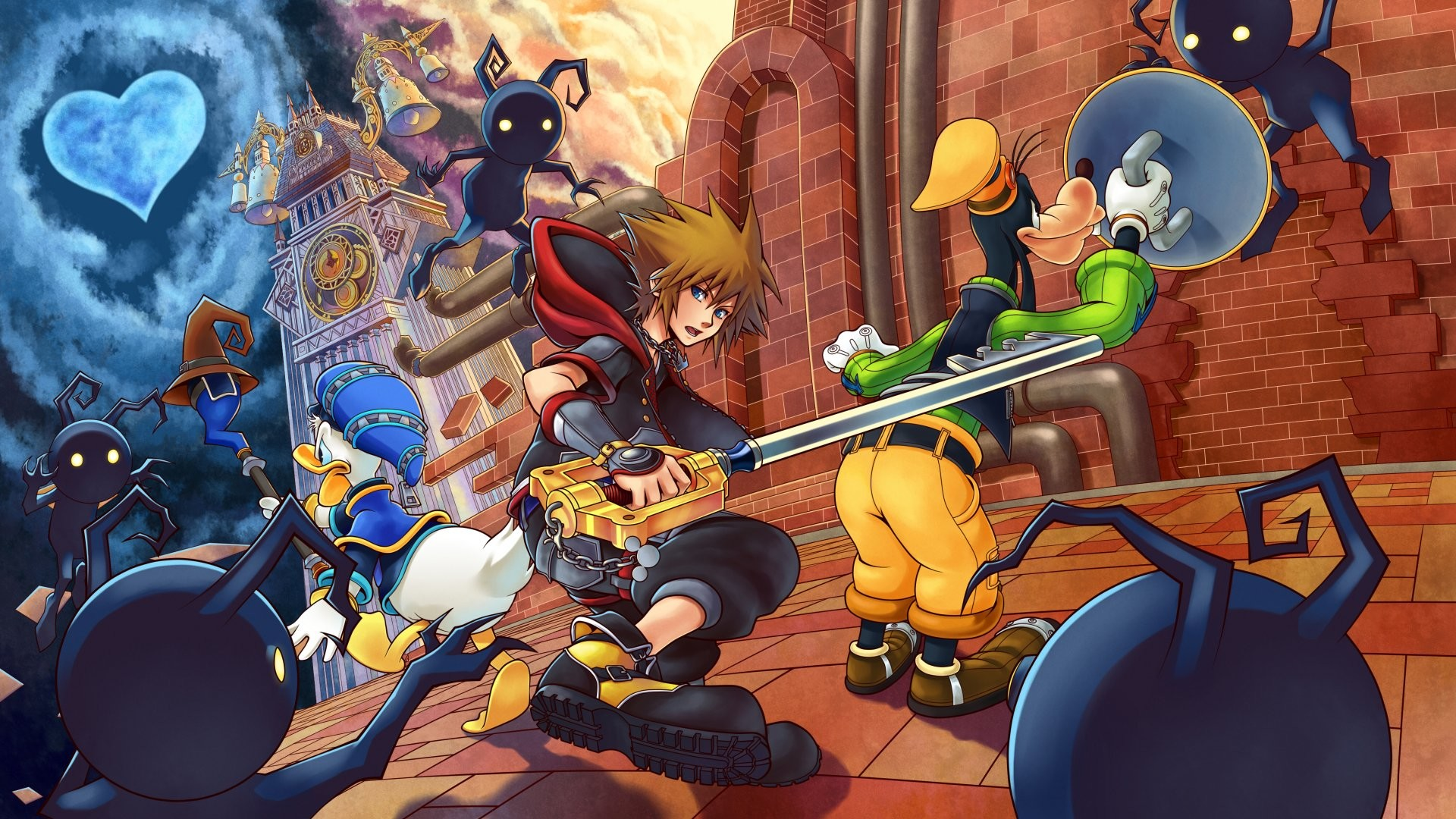 Kingdom Hearts 1 Wallpaper (73+ images)