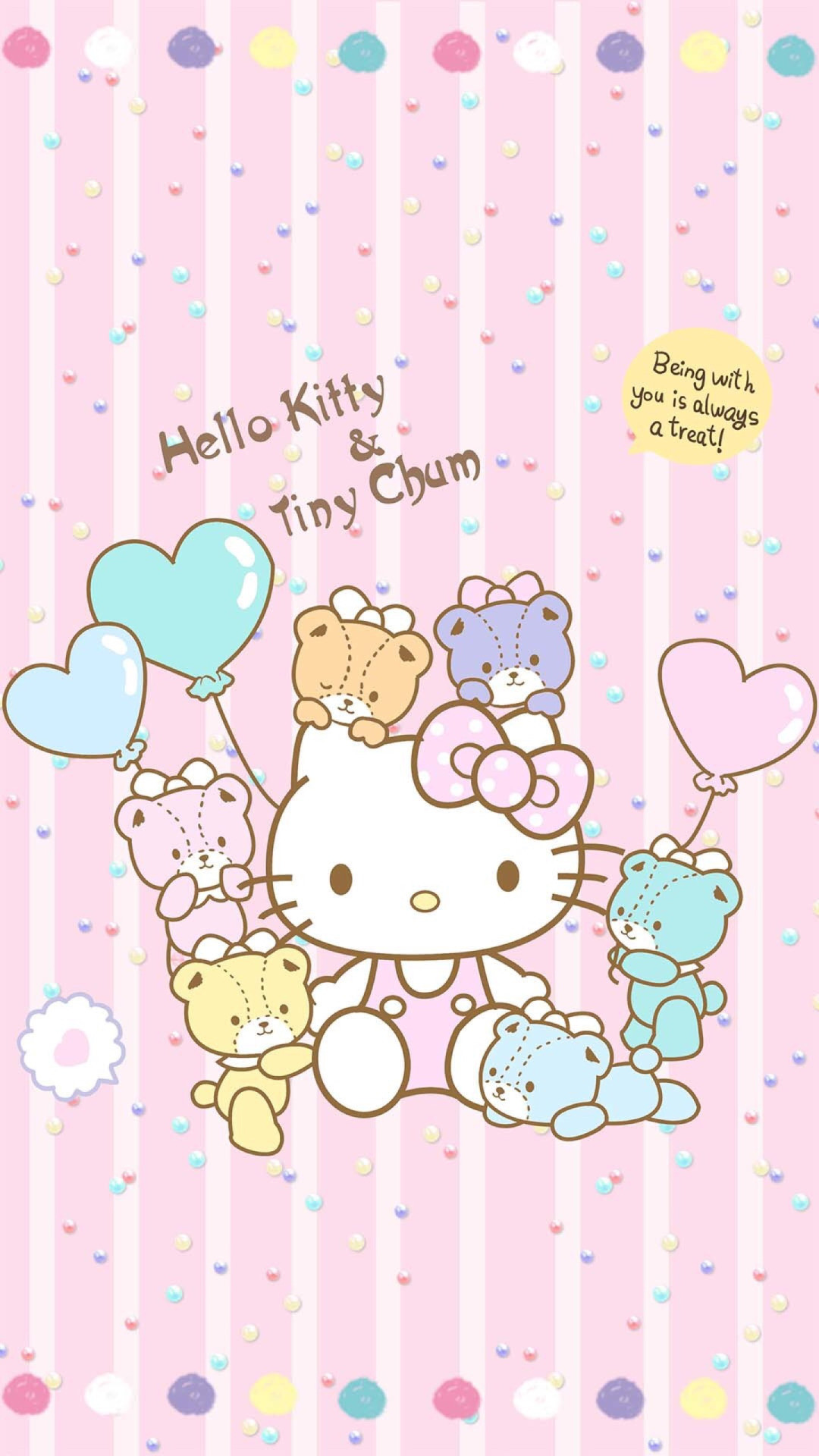 1242x2208 Kawaii Wallpaper Hello Kitty Mobile Stuff Sanrio Jade Skull Cartoons Background Screen