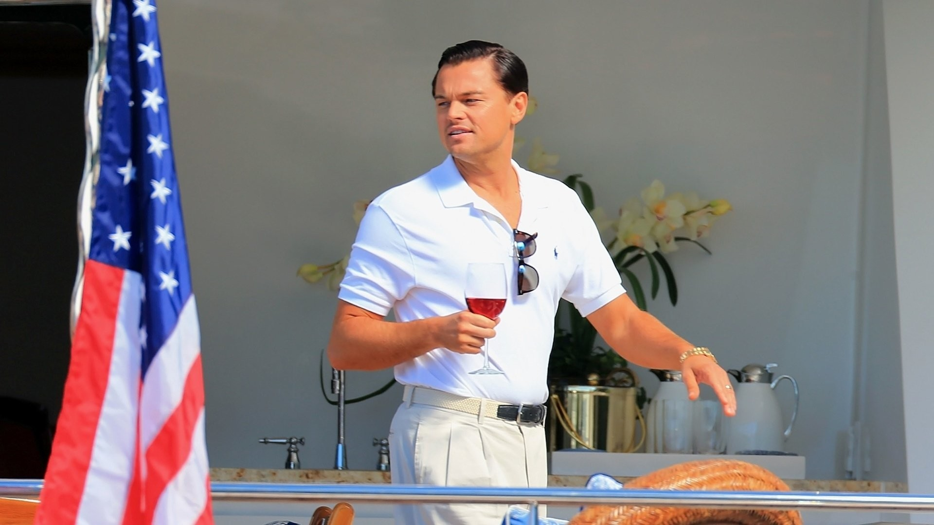 1920x1080 Movie - The Wolf of Wall Street Leonardo Dicaprio Jordan Belfort Wallpaper