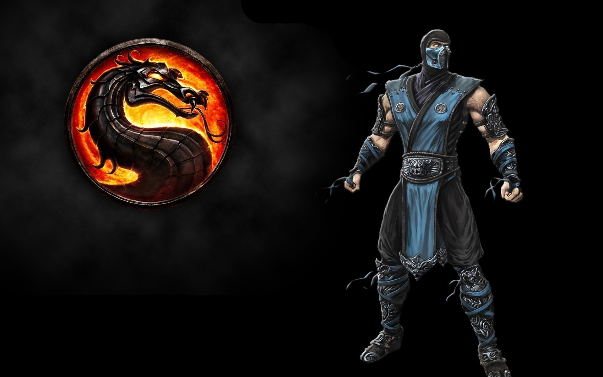 1920x1200 Mortal Kombat wallpaper Sub-Zero 7