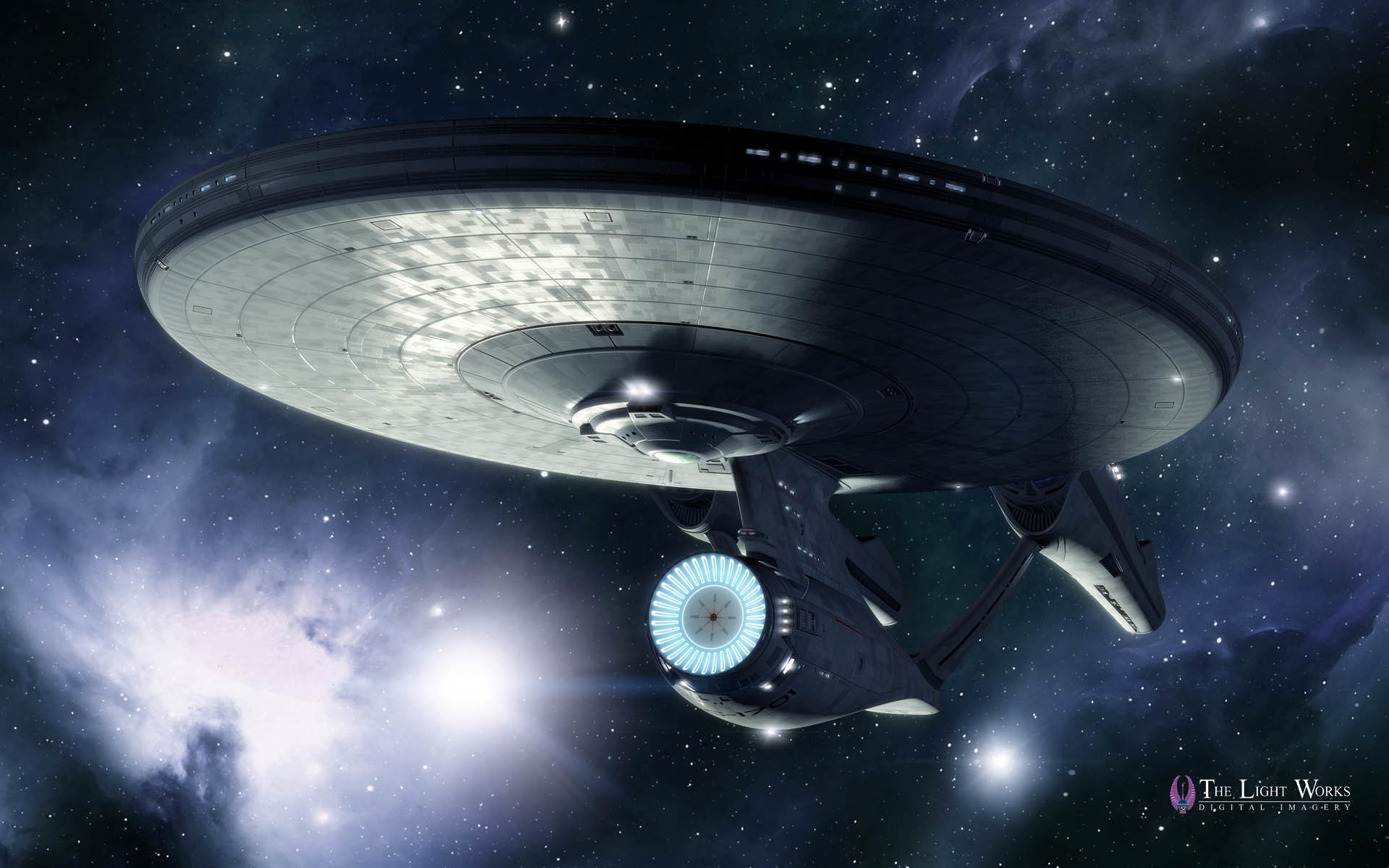 1920x1200 First Look at Tobias Richter's Star Trek Movie USS Enterprise Wallpapers
