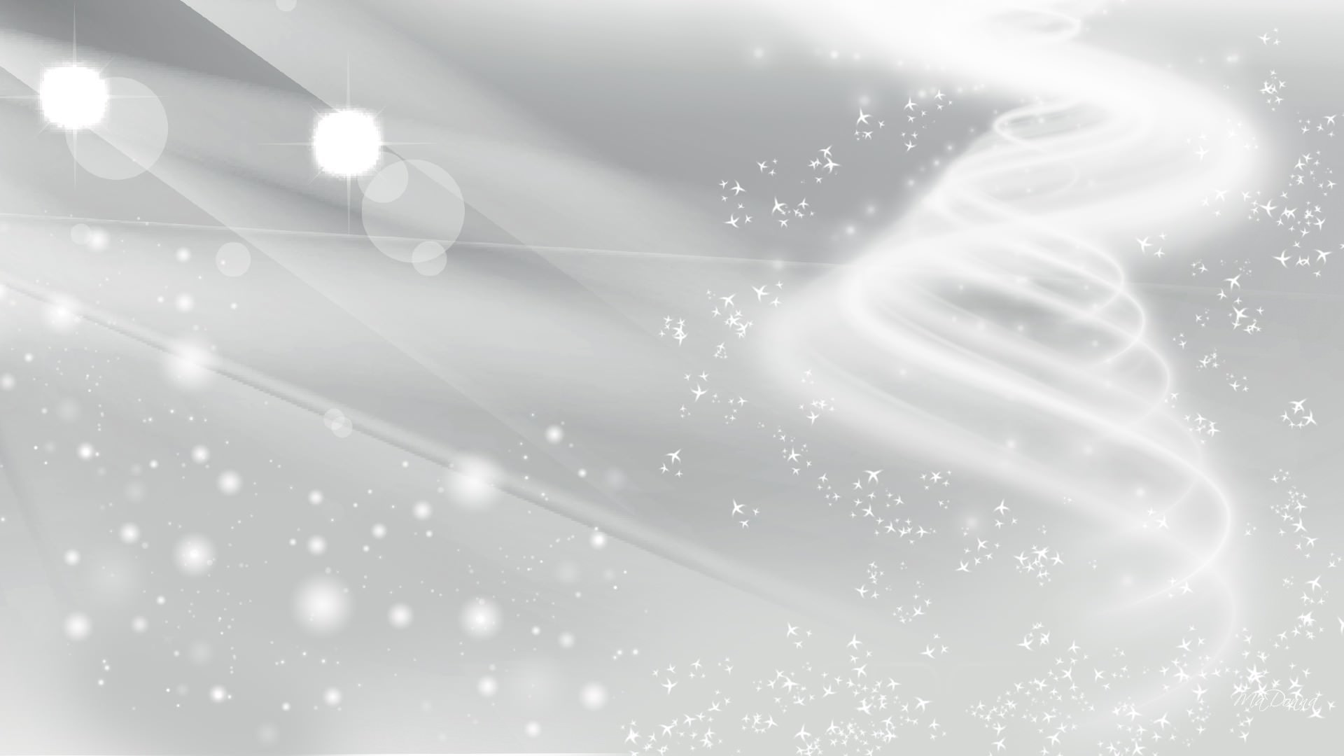 1920x1080 White Glitter Wallpaper