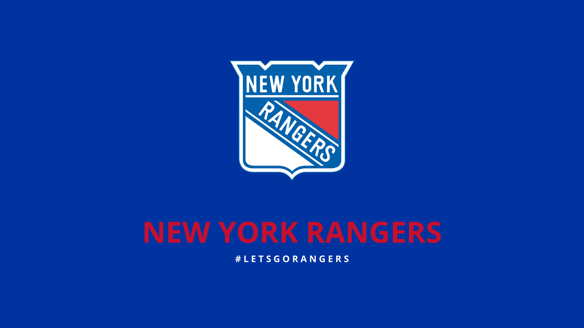 1920x1080 New York Rangers Hockey NHL Sports 1920x1080