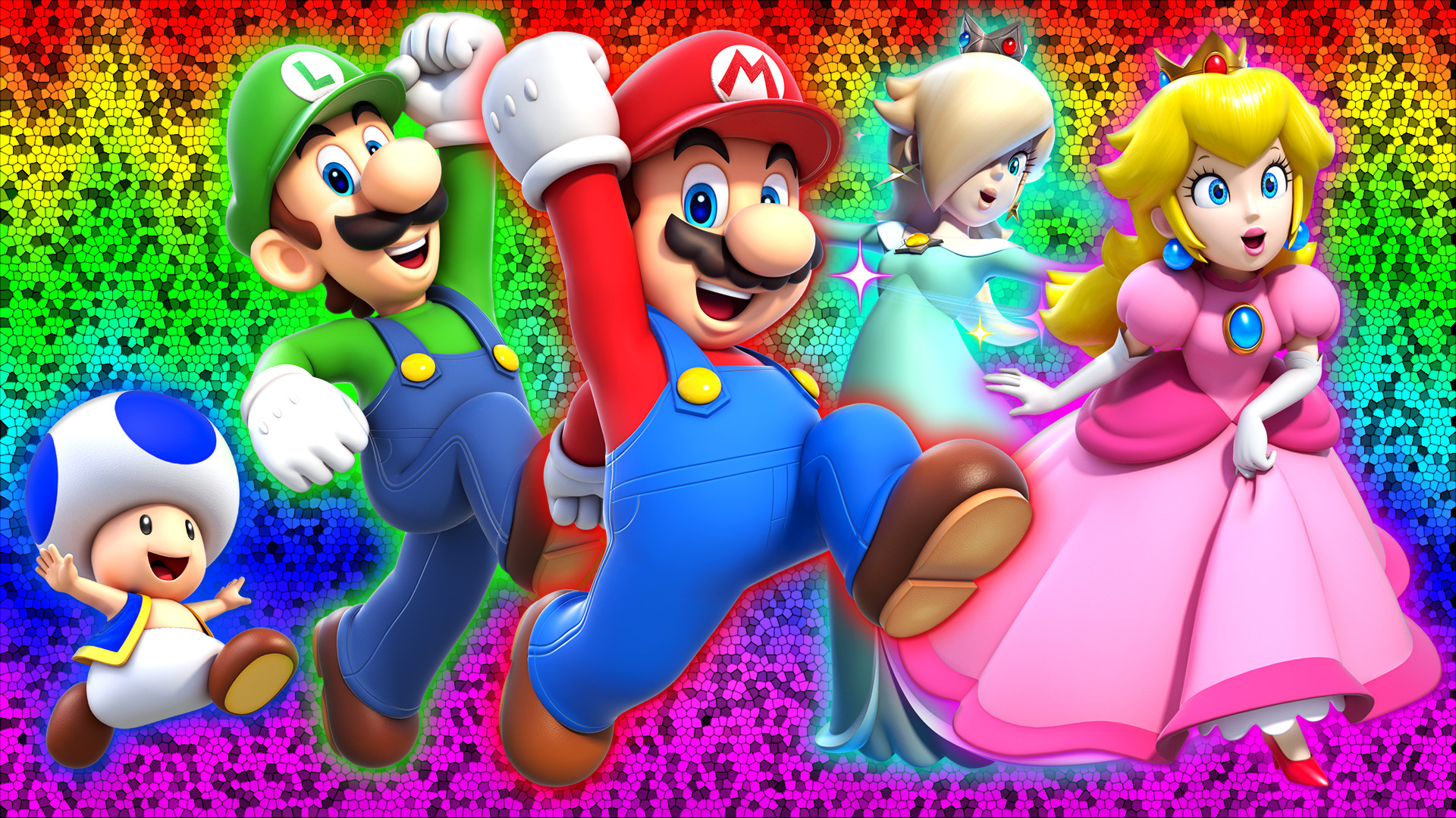 1920x1080 ... Super Mario 3D World Wallpaper by Glench