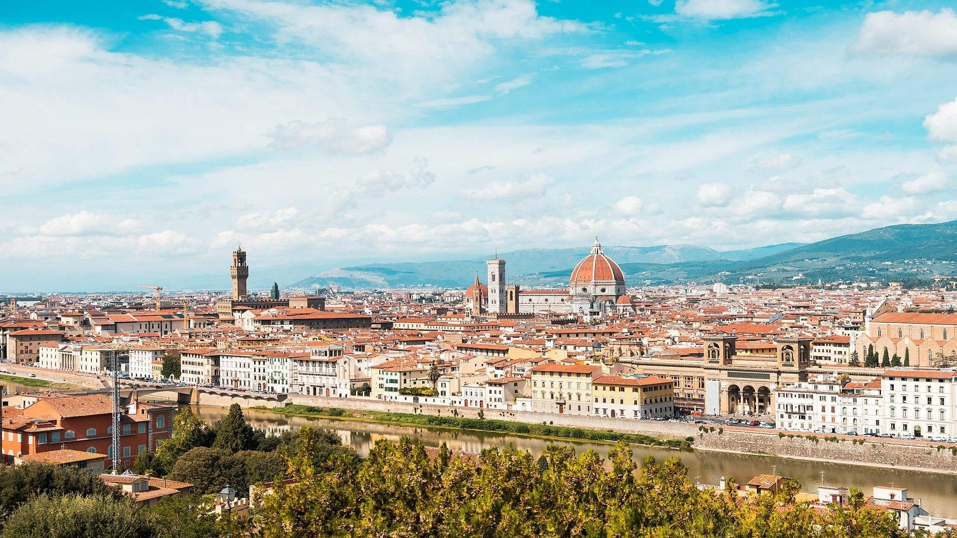 1920x1080 #FLORENCE FIRENZE TUSCANY [1920X1080] #Hdwallpaper #wallpaper #image