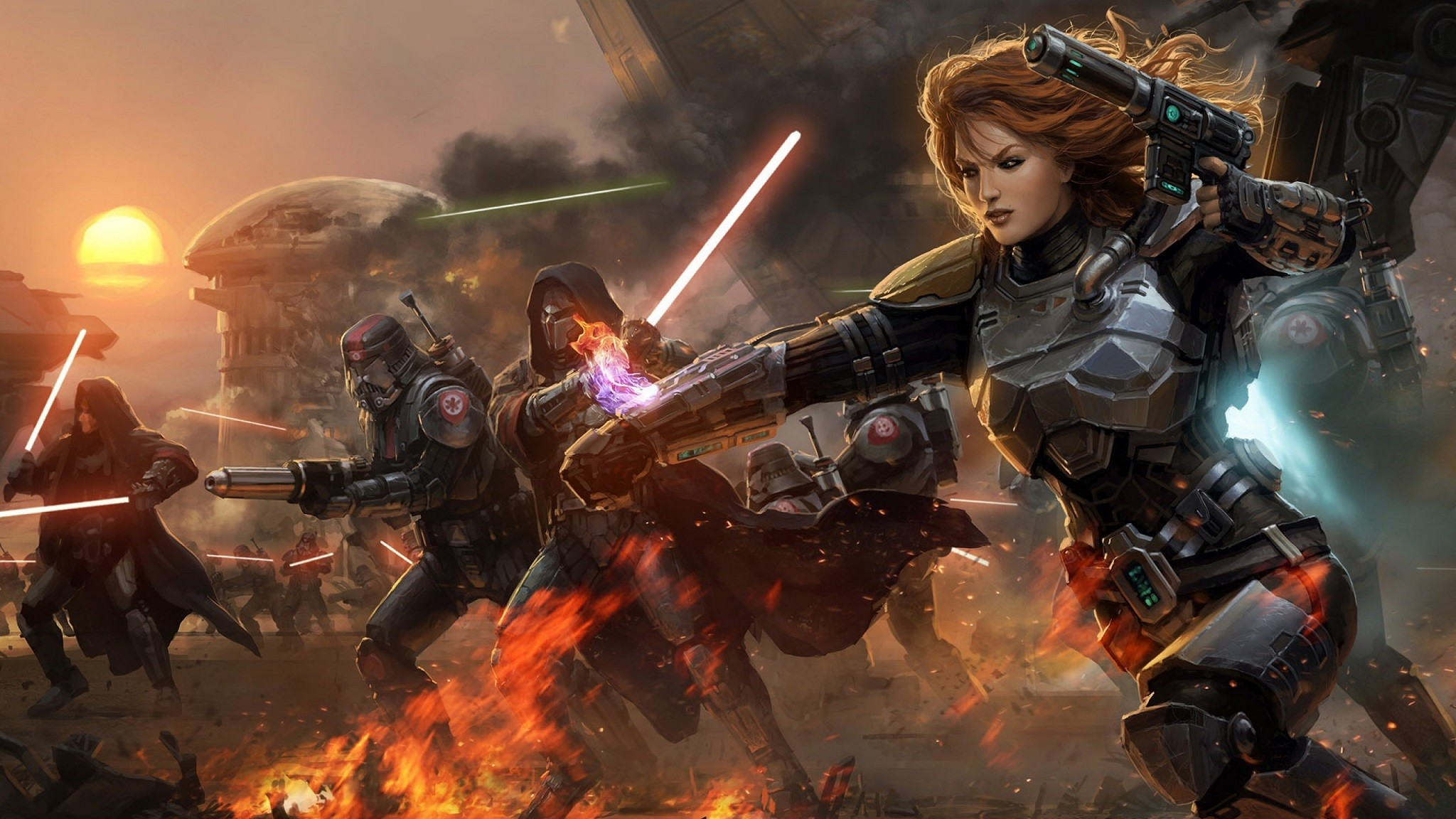 2048x1152 HD Wallpaper | Background ID:262845.  Video Game Star Wars: ...