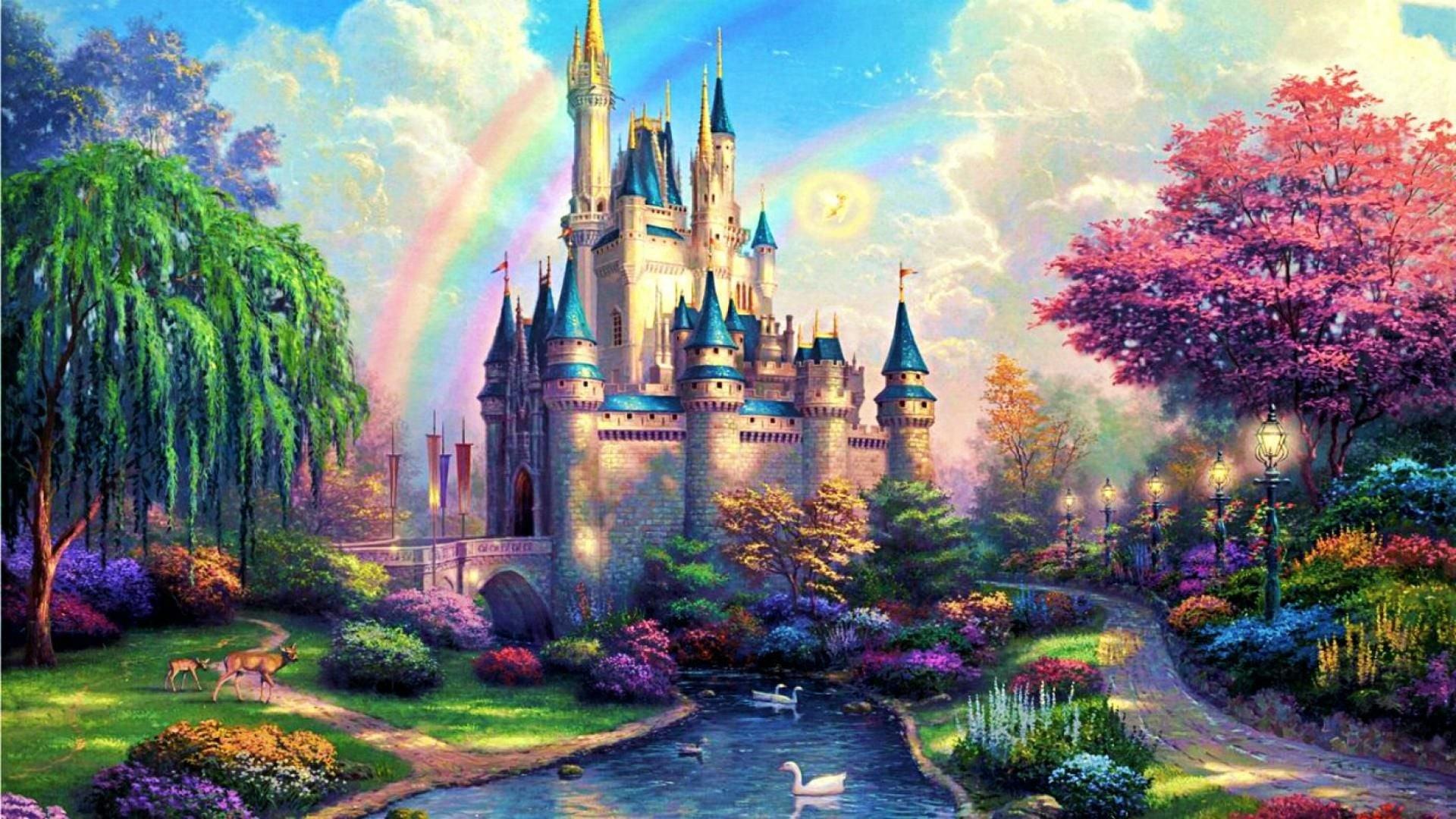 Disney Desktop Wallpaper Hd: Disney Castle Wallpaper HD (72+ Images