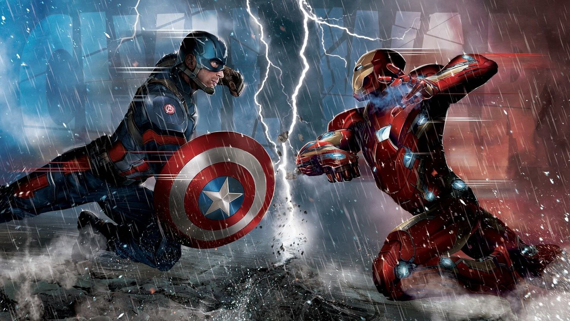 1920x1080 Iron Man and Captain America Civil War K Wallpaper Free K 1024×640 Captain  America Civil War Wallpapers (22 Wallpapers) | Adorable Wallpapers |  Pinterest ...