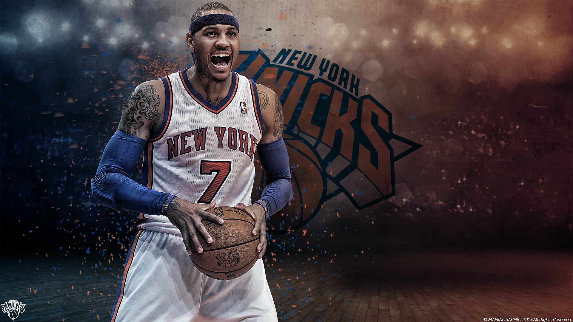 1920x1080 carmelo anthony wallpaper by maniagraphic fan art wallpaper other 2013