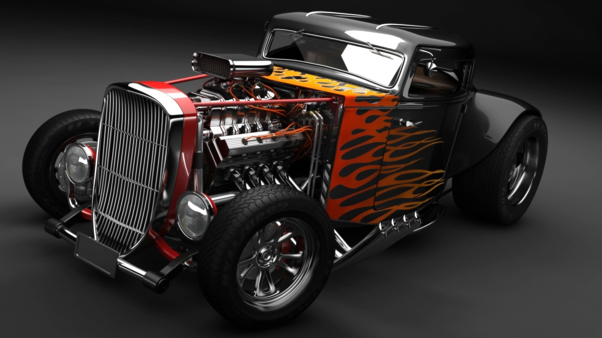 1920x1080 HD Wallpaper | Background ID:415198.  Vehicles Hot Rod