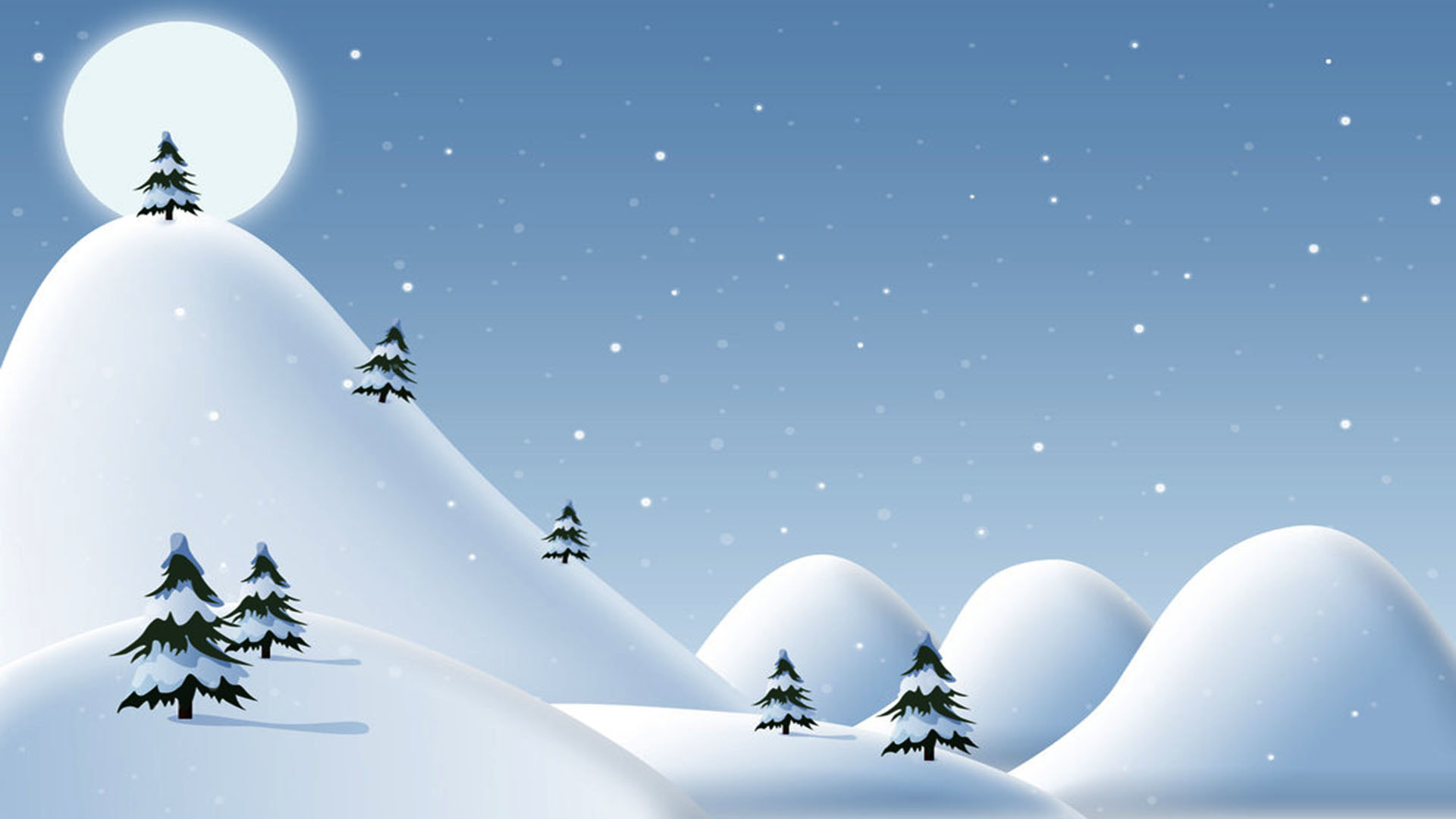 1920x1080 Xmas Background Wallpaper
