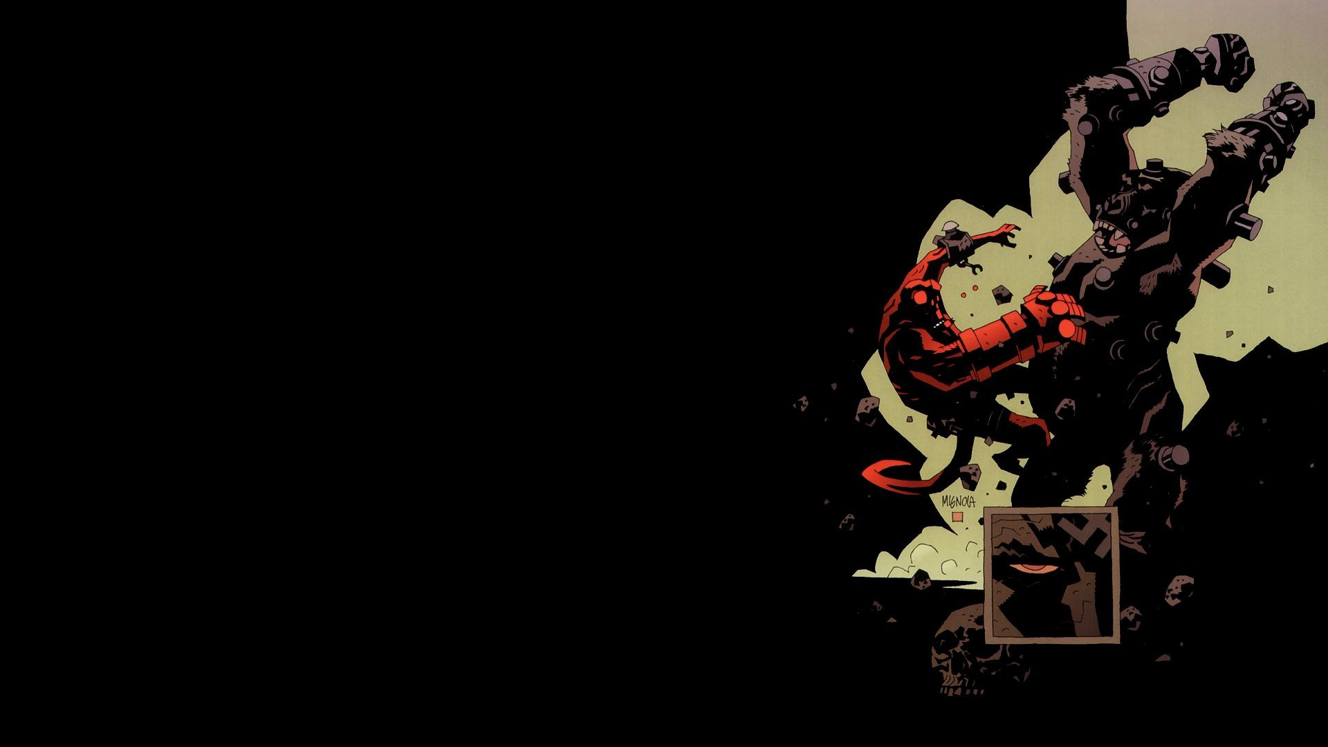 Hellboy Wallpapers For Phones 68 Images