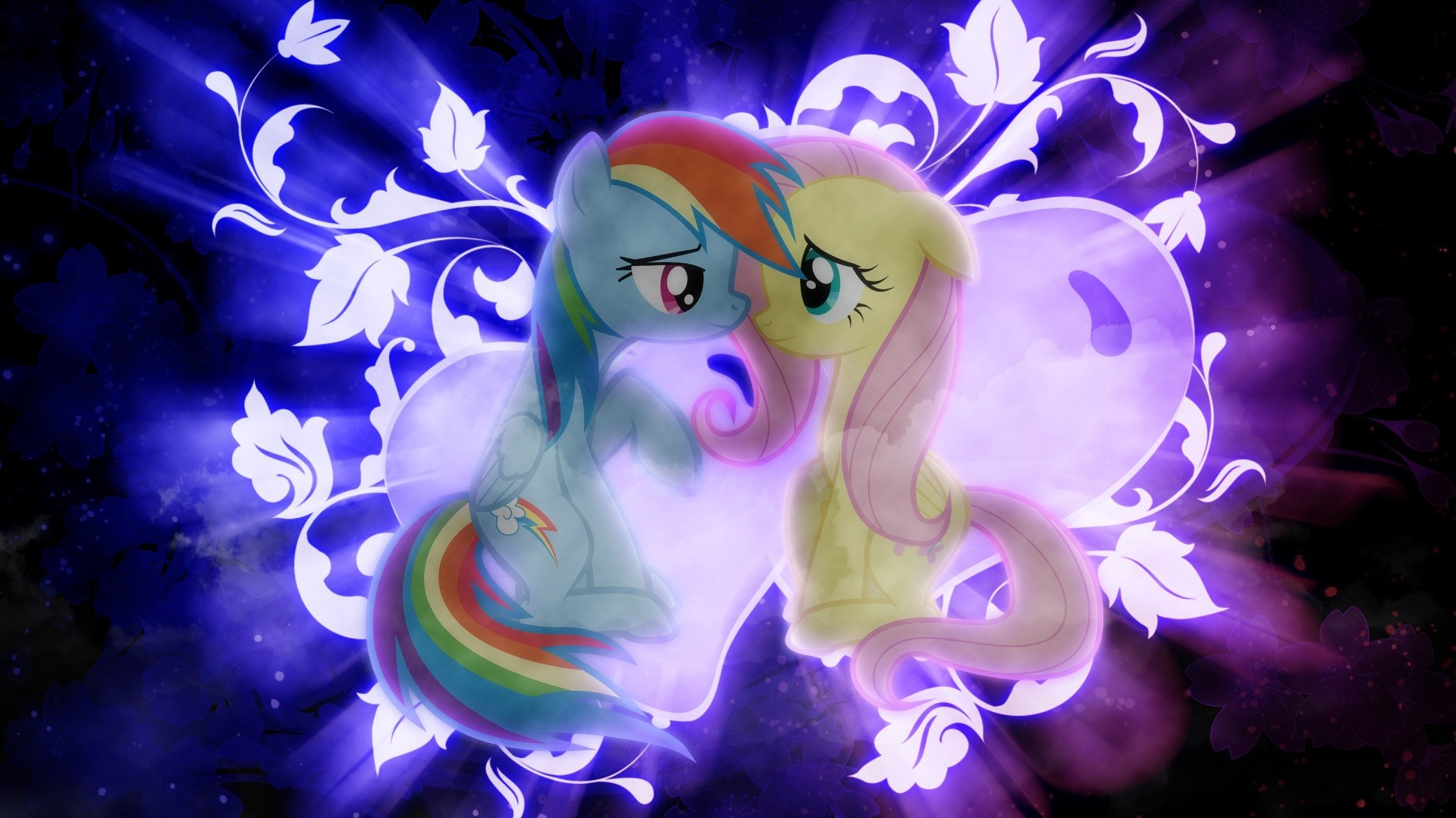1920x1080 Rainbow Dash and Fluttershy shipping wallpaper.jpg