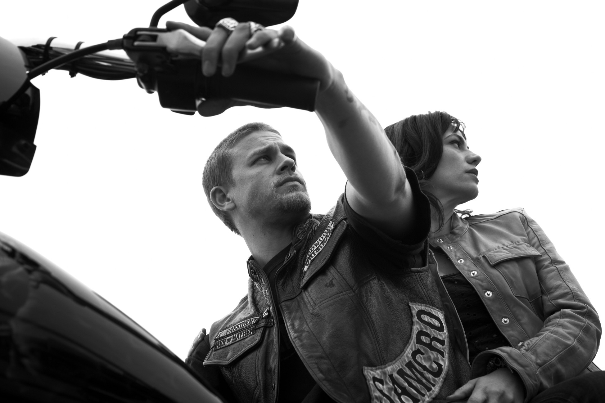 1949x1299 Maggie Siff wallpaper entitled Maggie Siff as Tara Knowles in Sons of  Anarchy