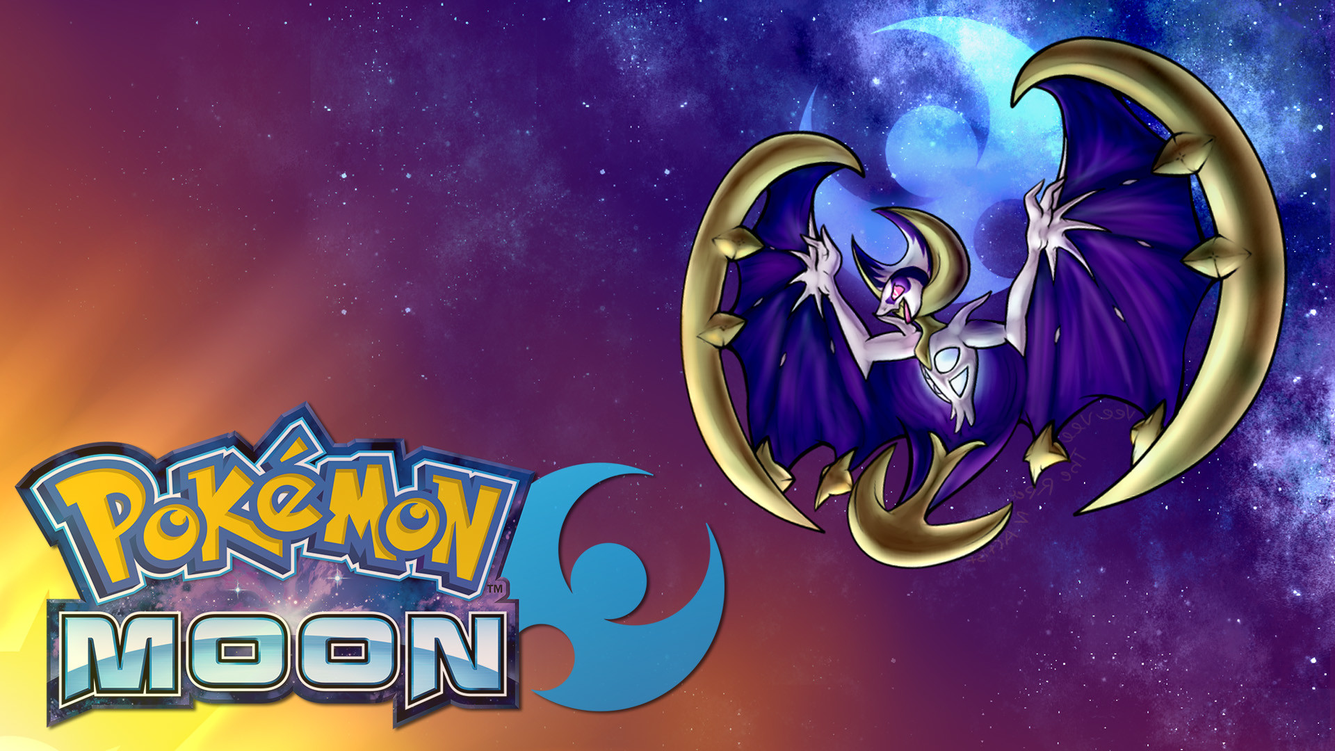 1920x1080 Pokemon Moon Legendary Wallpaper Full HD