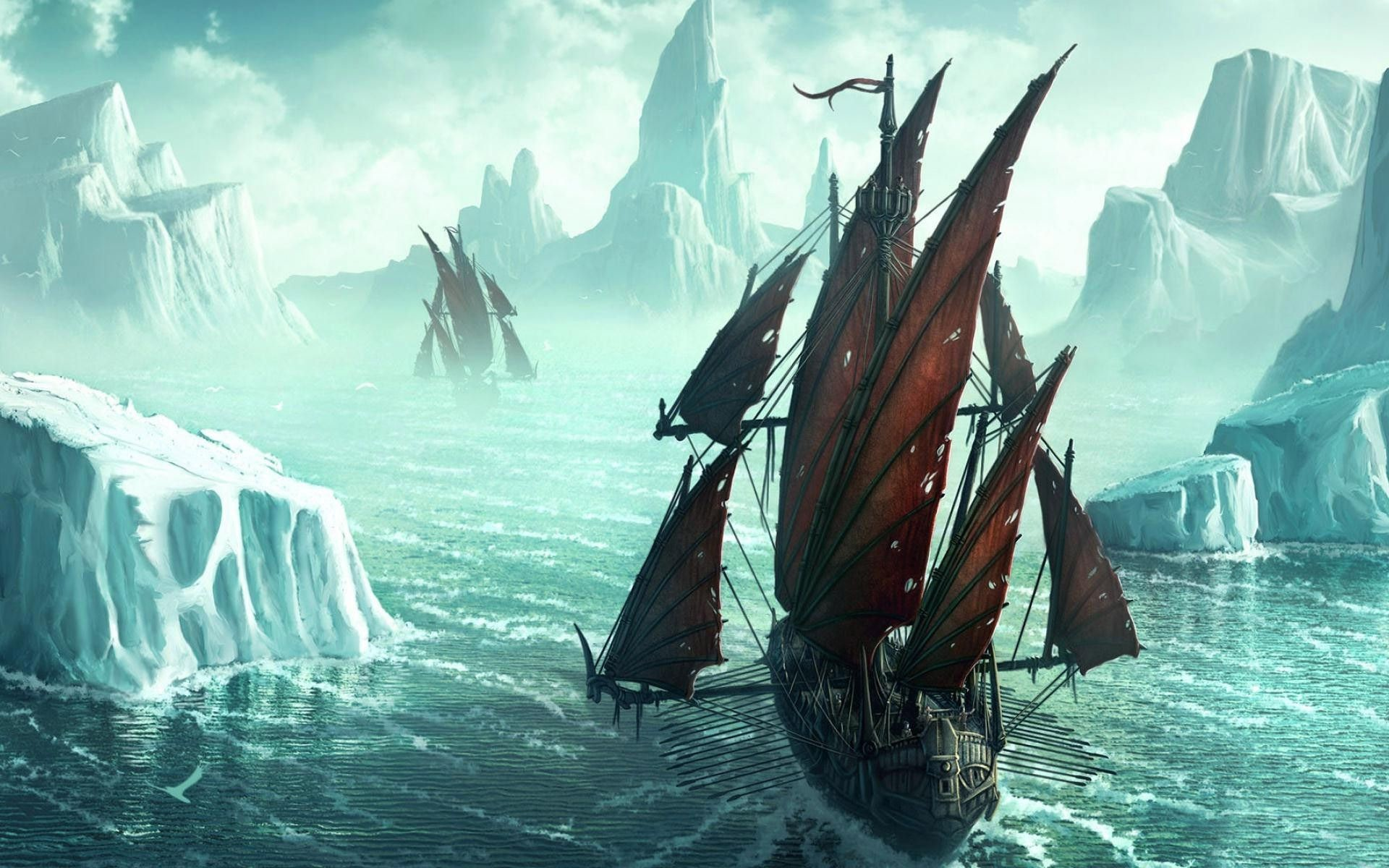 Pirate ship wallpaper 82 images - Pirate background ...