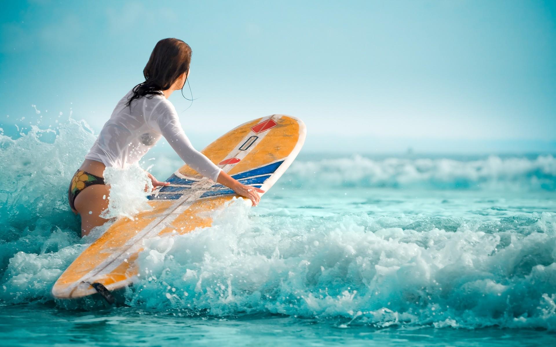 Girls Surfing Wallpaper 65 Images