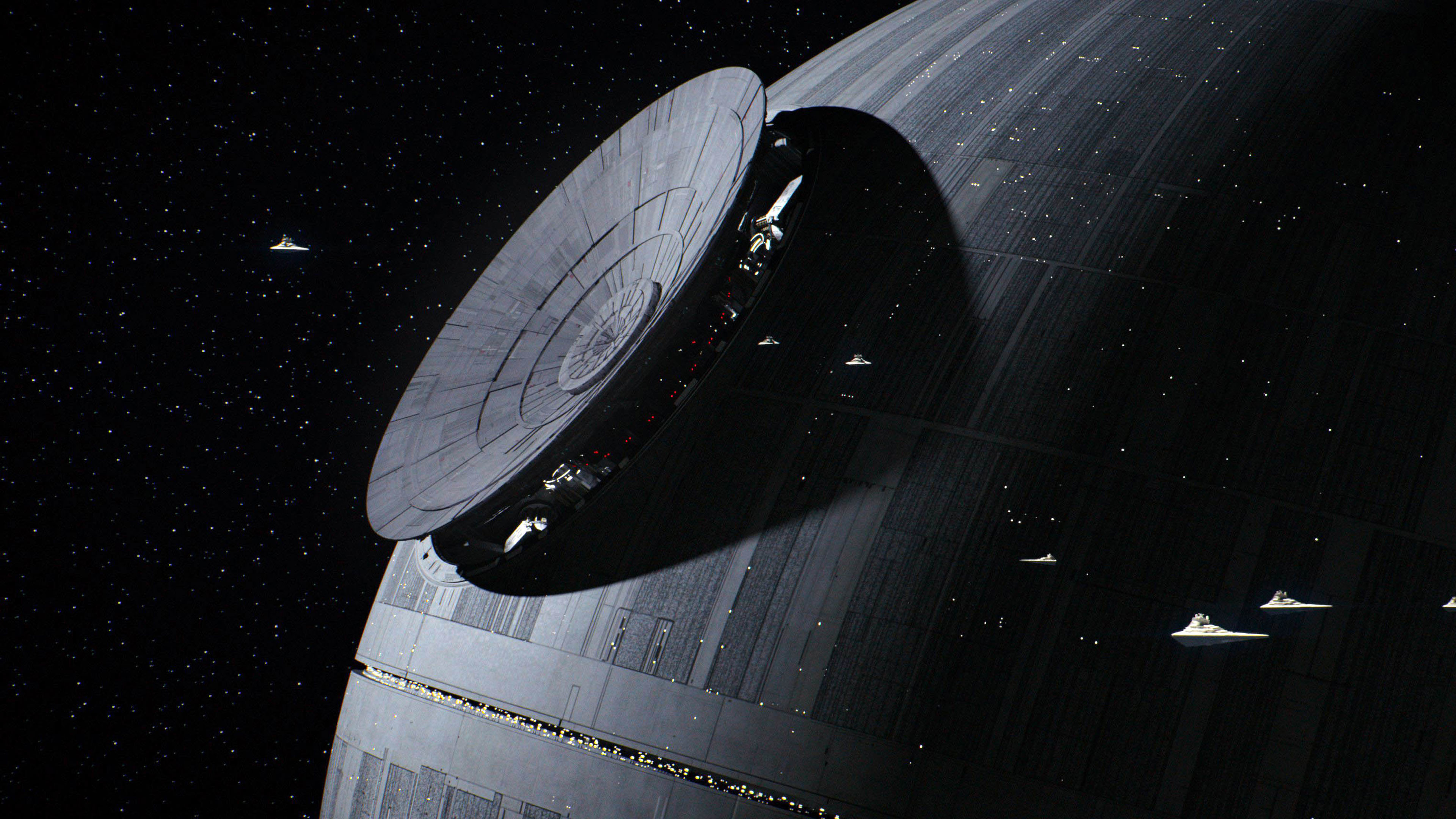 3840x2160 Star Wars Rogue One - Death Star  wallpaper