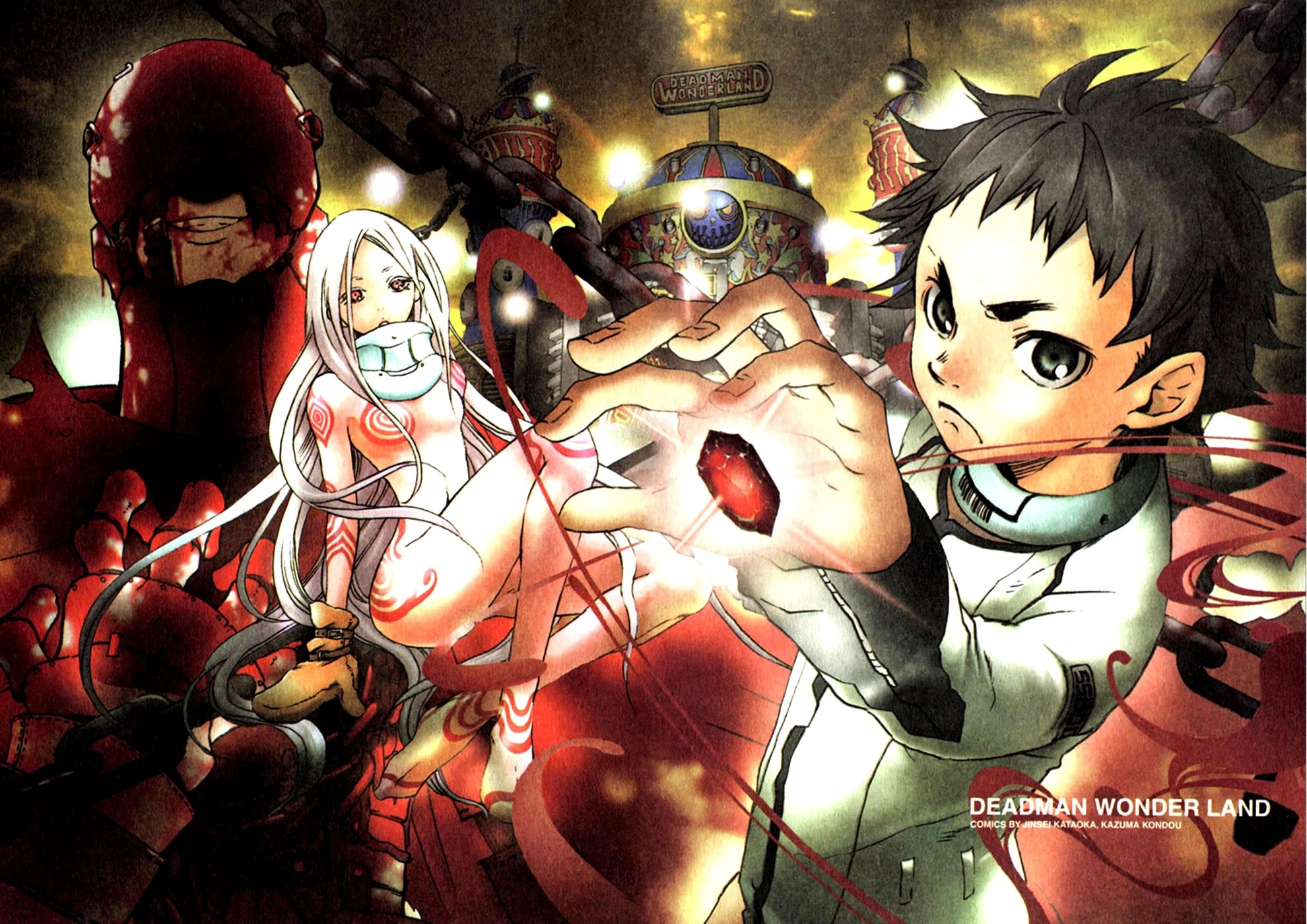 1980x1400 Deadman Wonderland Wallpaper 34+
