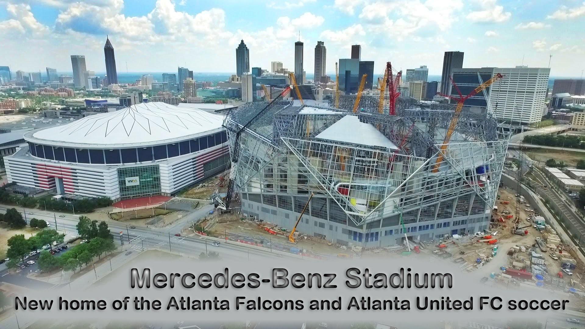 Atlanta falcons 2018 wallpaper hd 64 images for Mercedes benz dome in atlanta