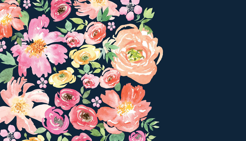 Floral desktop backgrounds 51 images - Flower wallpaper macbook ...
