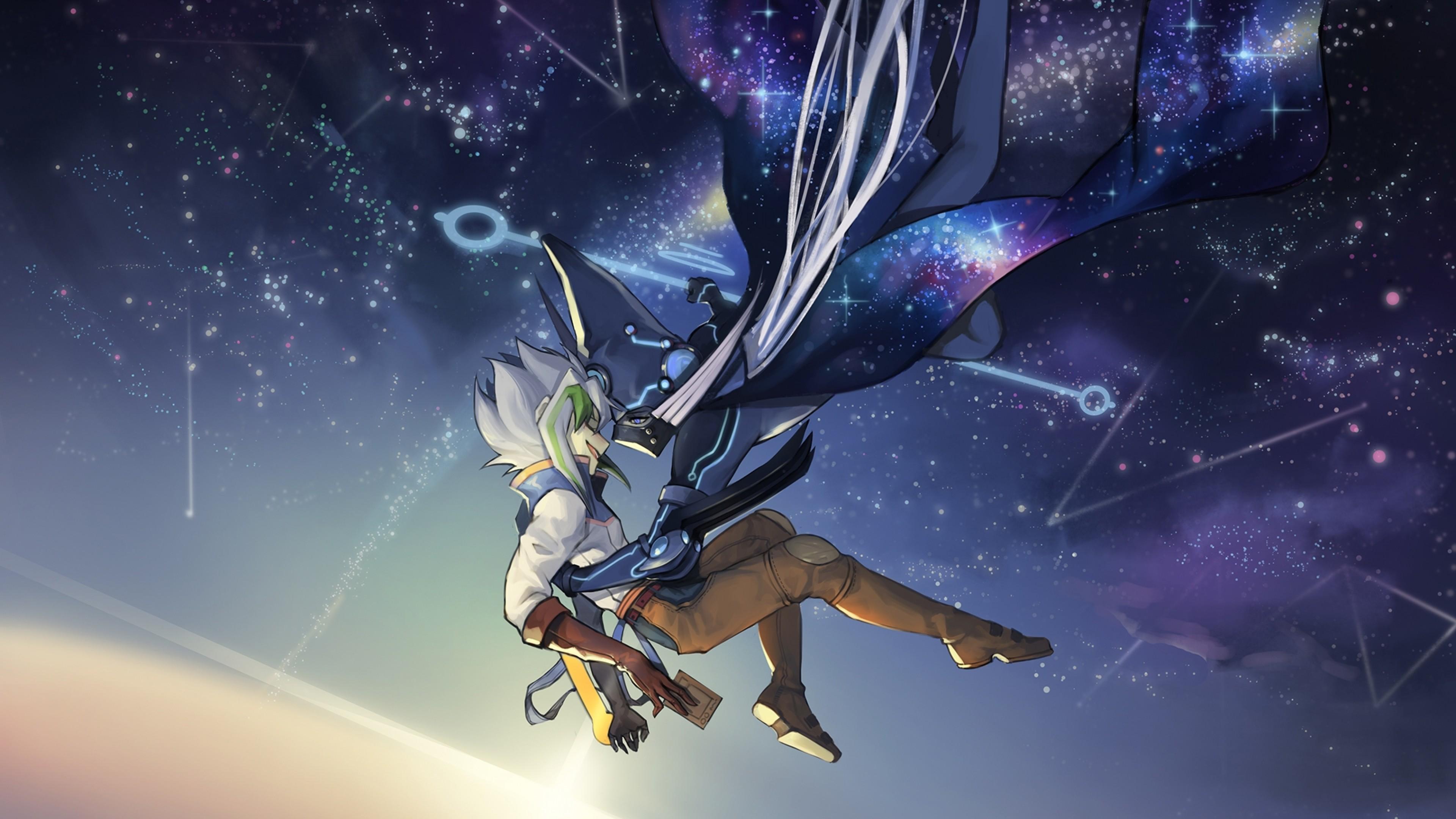 3840x2160 Astrograph Sorcerer, Zarc, Yu-gi-oh Arc V