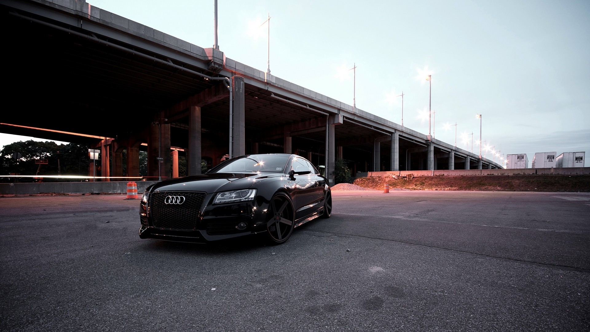 Great 1920x1080 Audi RS5 2015 Black
