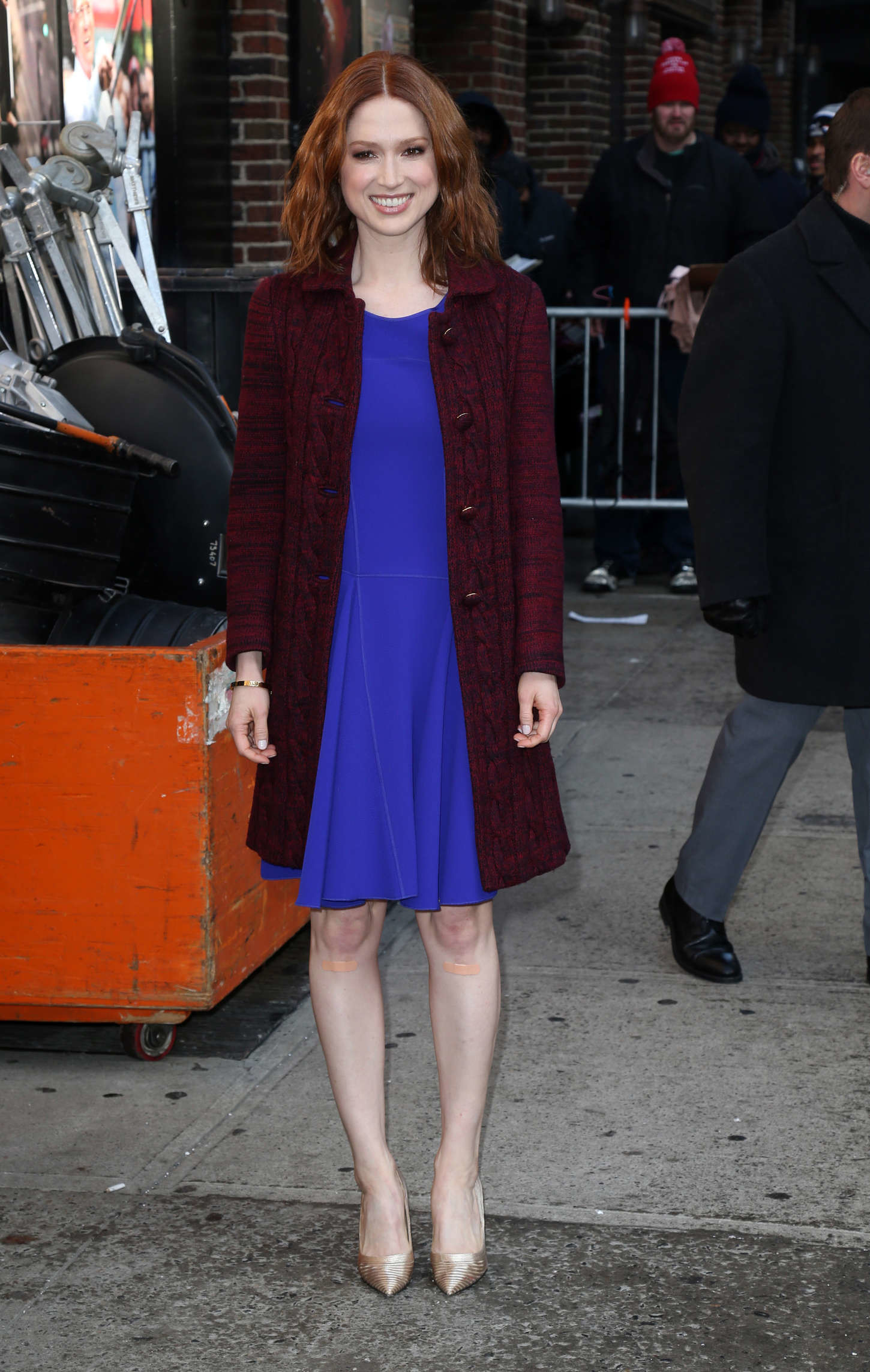 1450x2287 Ellie Kemper at Late Show with David Letterman -08