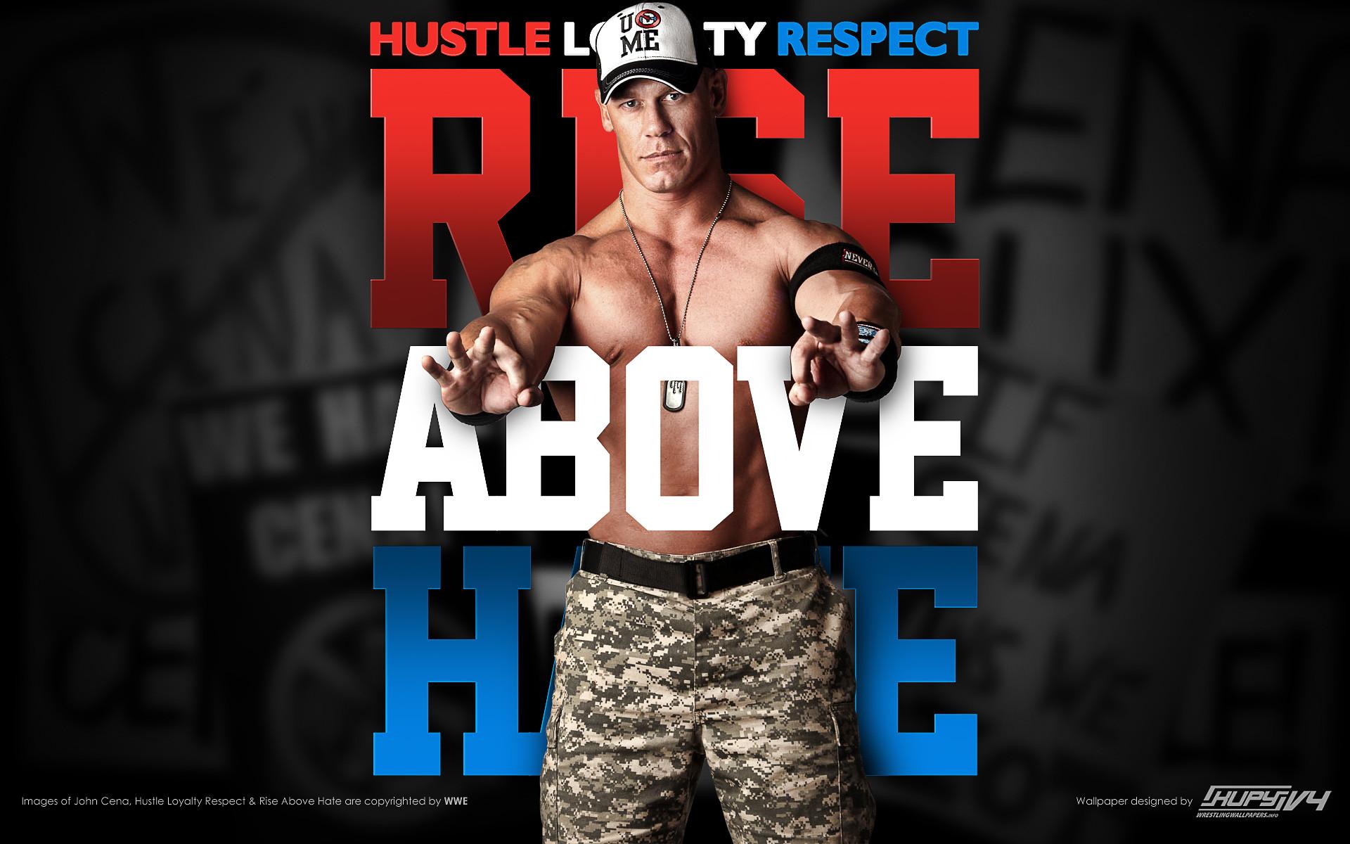 John Cena Wallpaper Rise Above Hate
