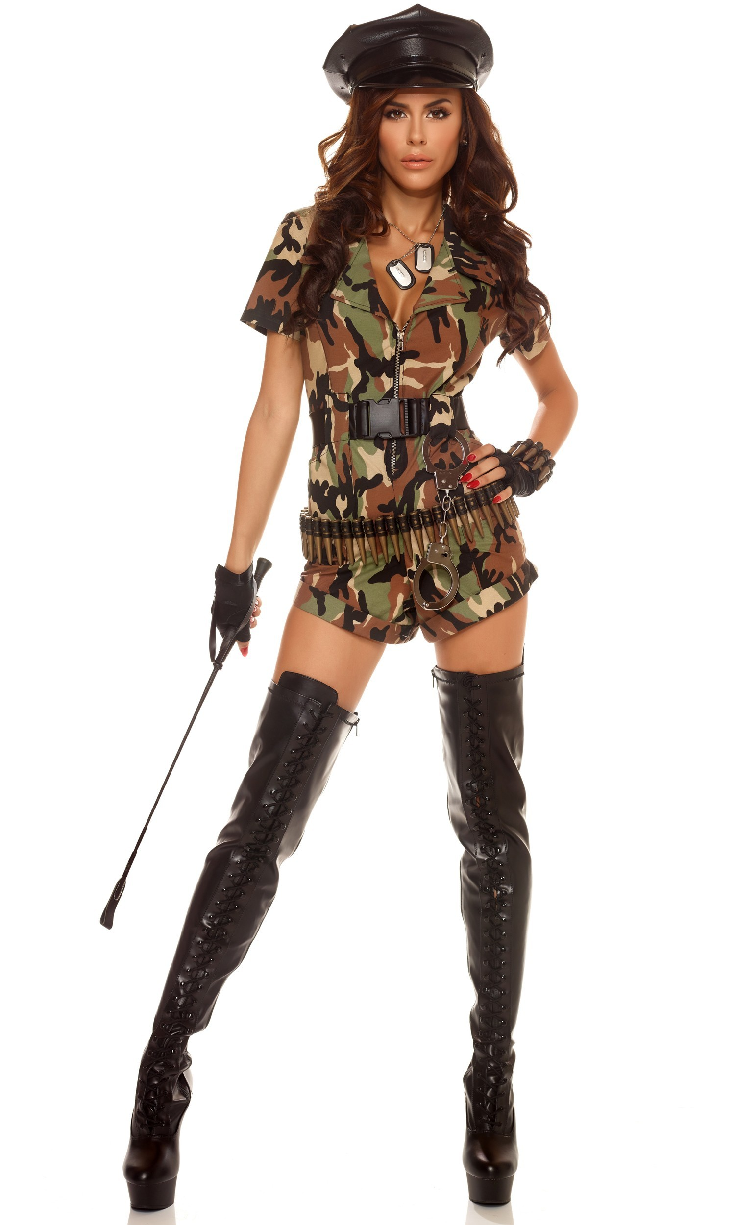 1500x2500 War Ready 3pc Sexy Army Costume