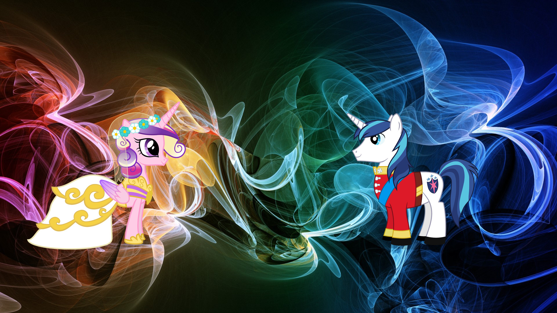 1920x1080 princess cadance and shining armor wallpaper by bigmacintosh7 d4vp45m