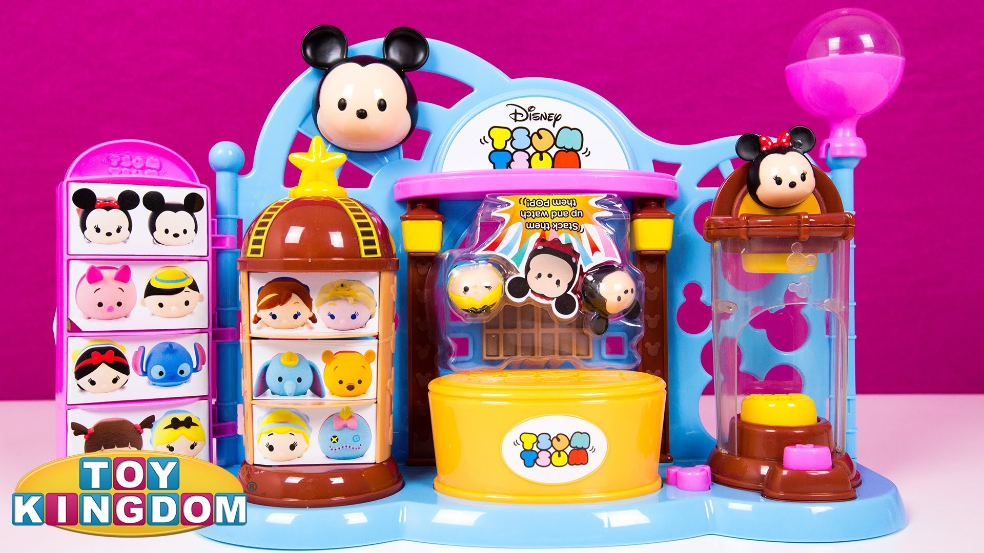 1920x1080 Tsum Tsum Toy Shop Playset Review Entertainer Exclusive