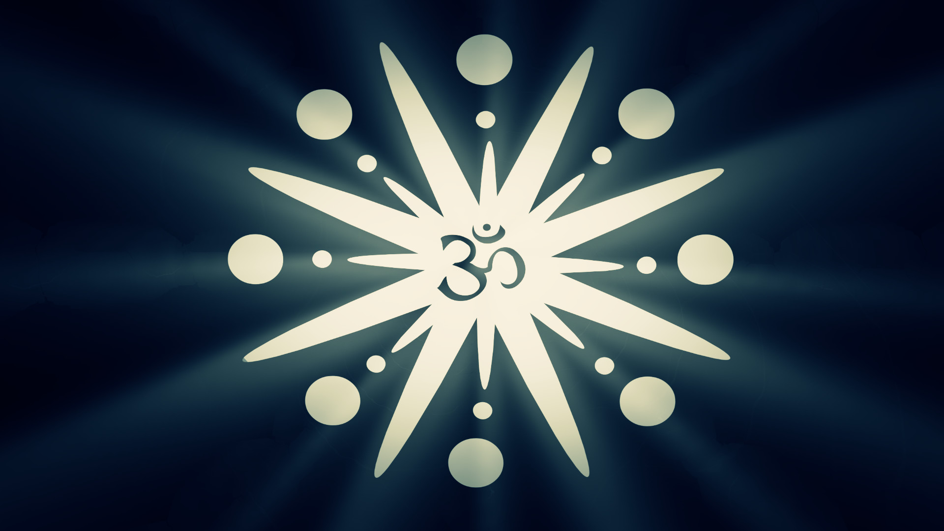 1920x1080 ... Om (Aum/Ohm) by Extra-terrien