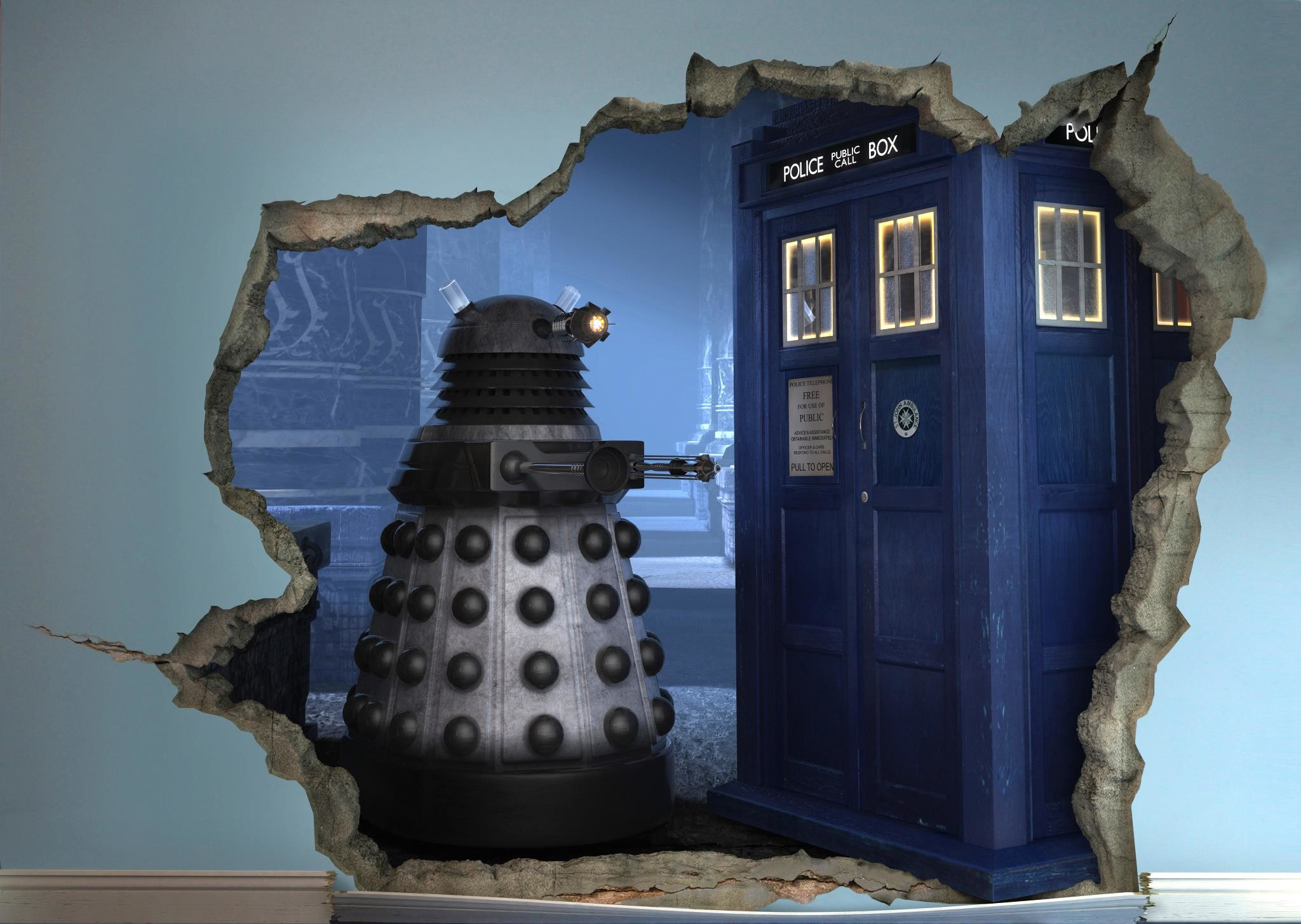 2048x1454 Exploding Tardis Mural Wallpaper Sticker Doctor Who Bedroom  Exploding Doctor Who Room Wallpaper 37 Images.