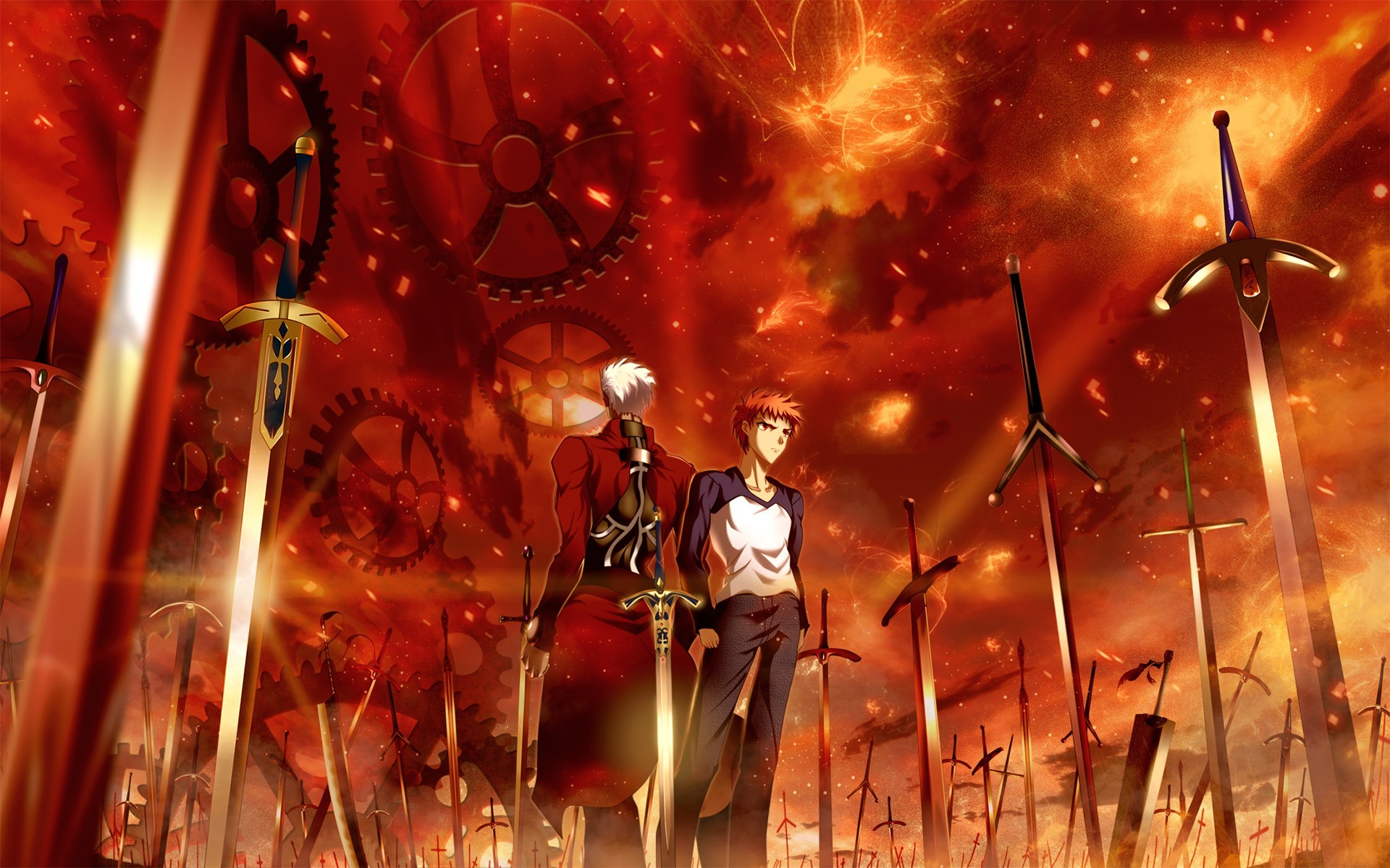1920x1200 Anime - Fate/Stay Night: Unlimited Blade Works Archer (Fate/Stay Night